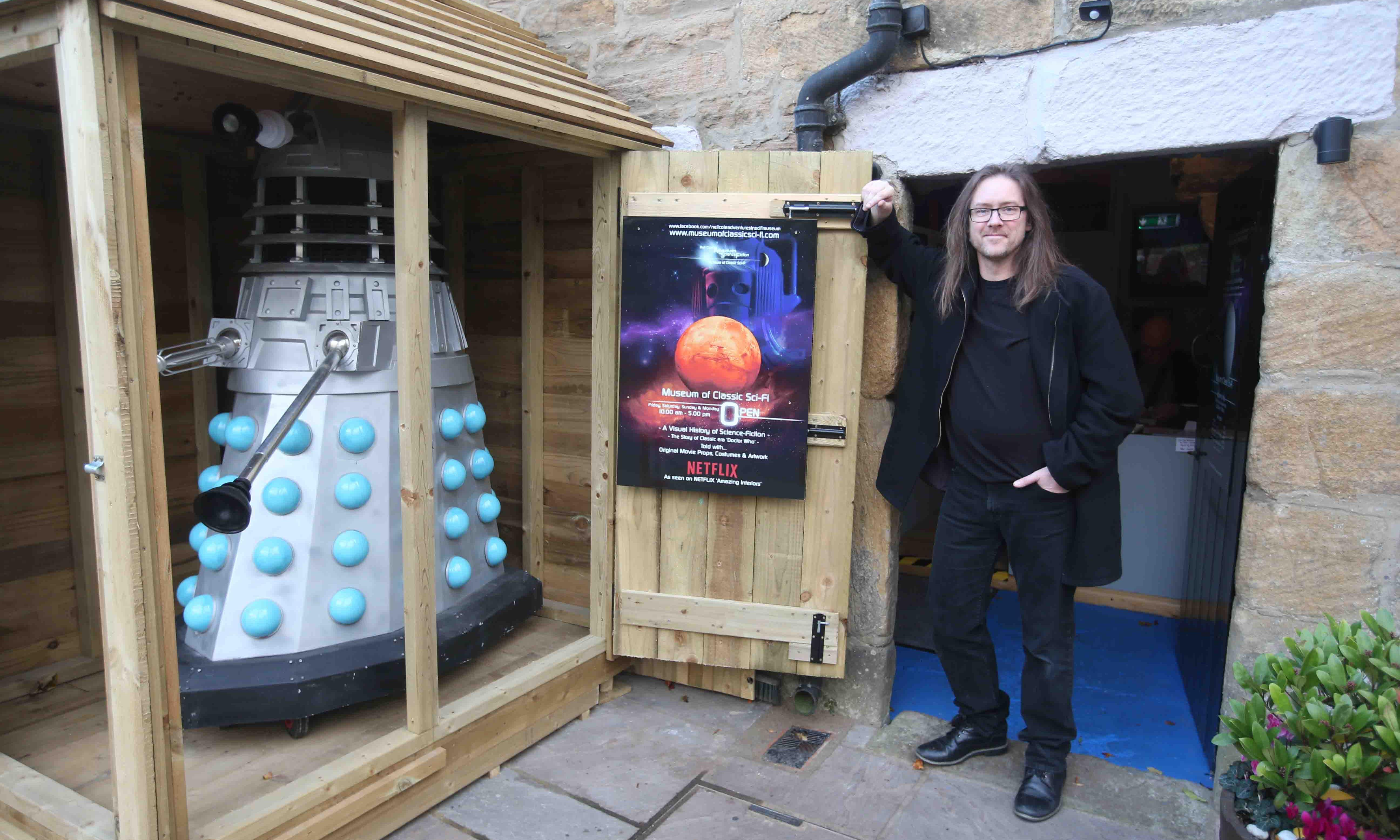 'Exterminate': man incurs wrath of council with Dalek shed