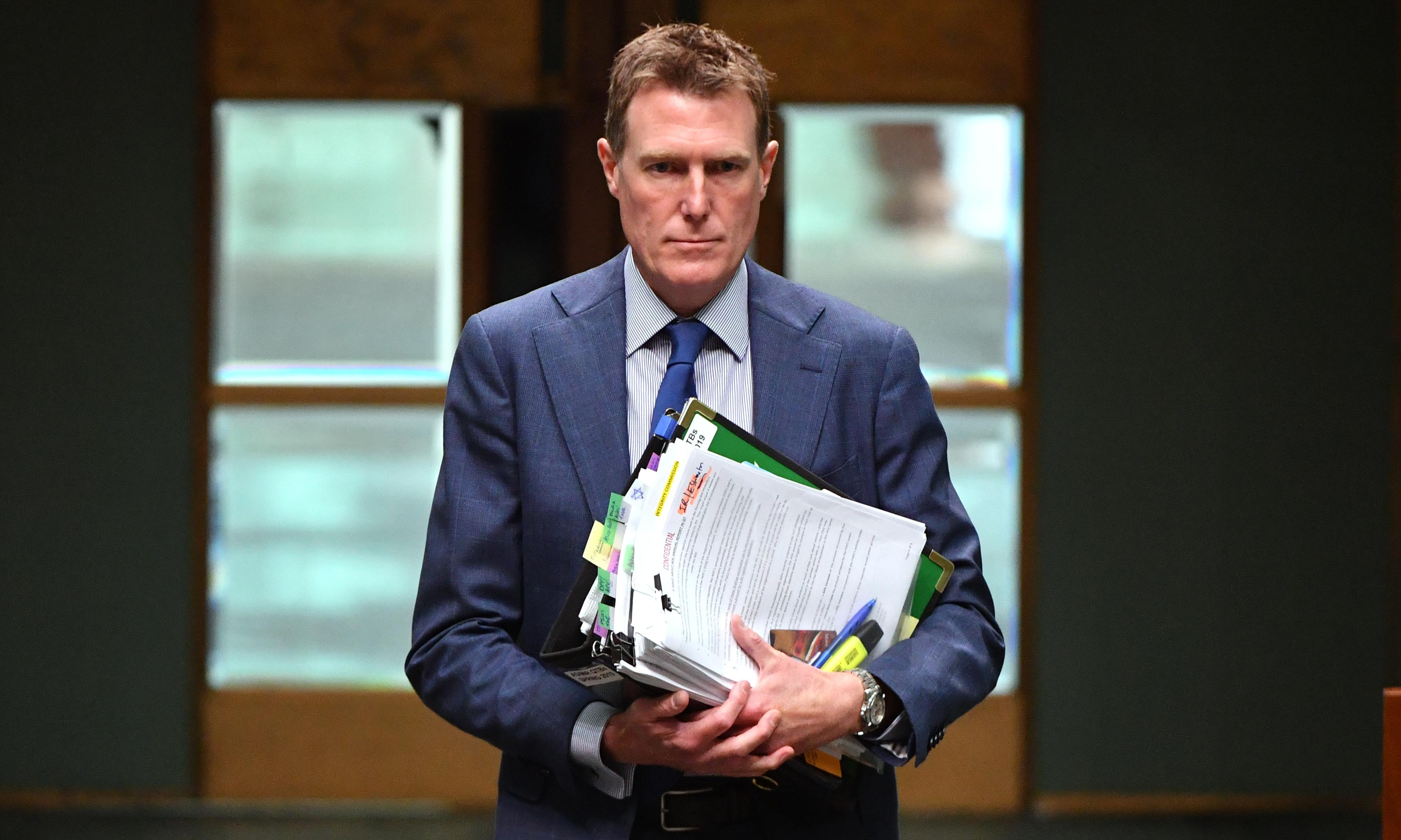 Company bosses should be disqualified from boards for underpaying workers, Christian Porter says
