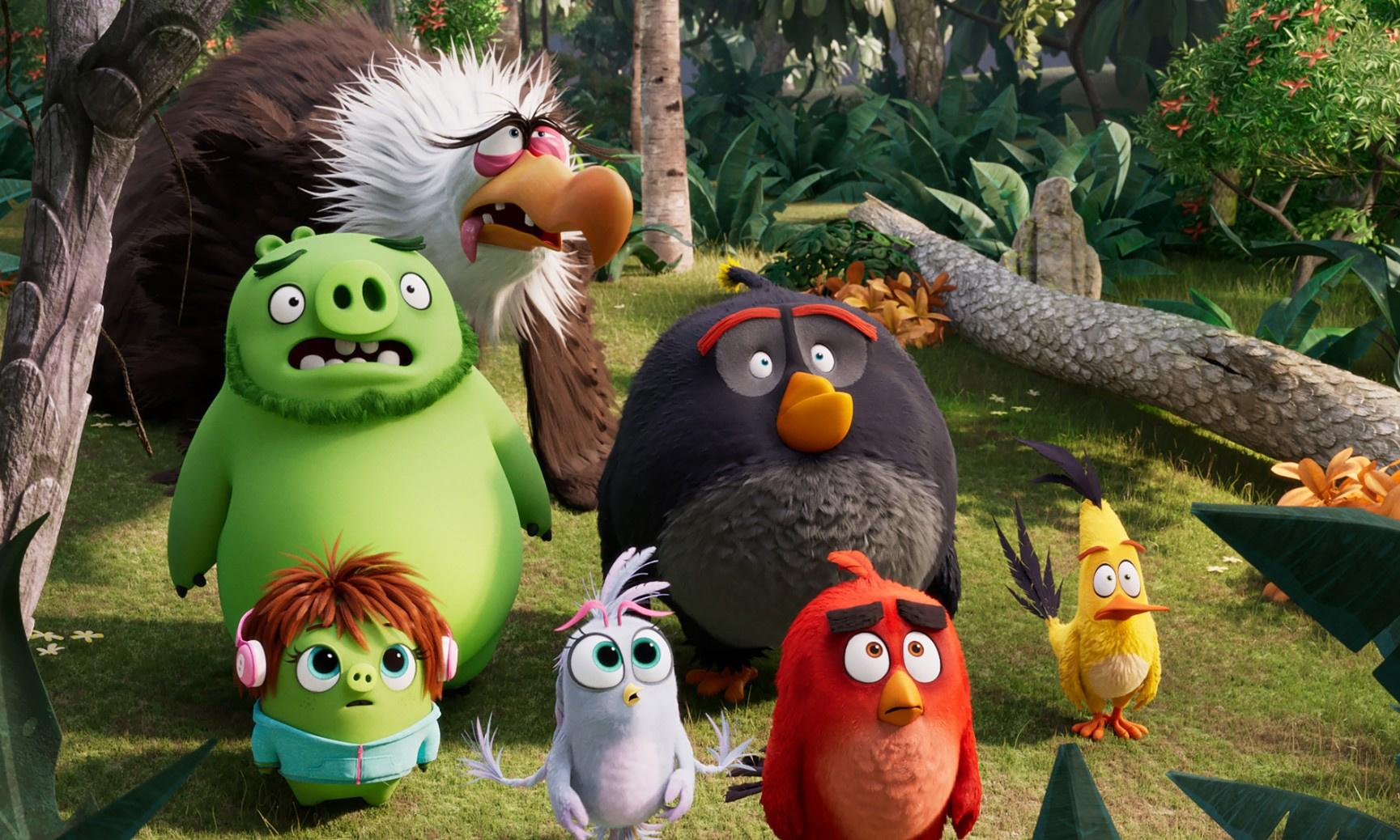 The Angry Birds Movie 2 review – another fun-filled flutter