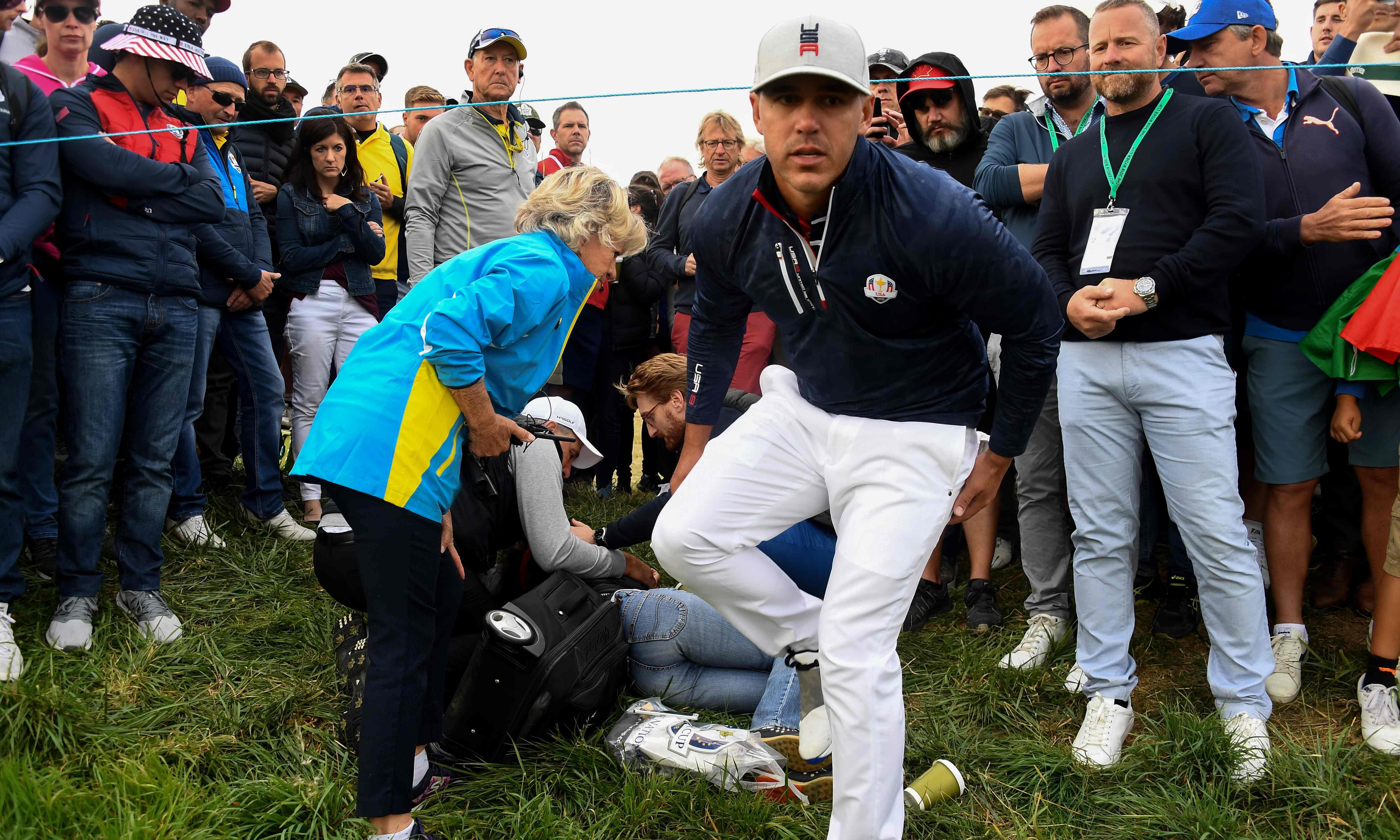 The inherent dangers of watching golf