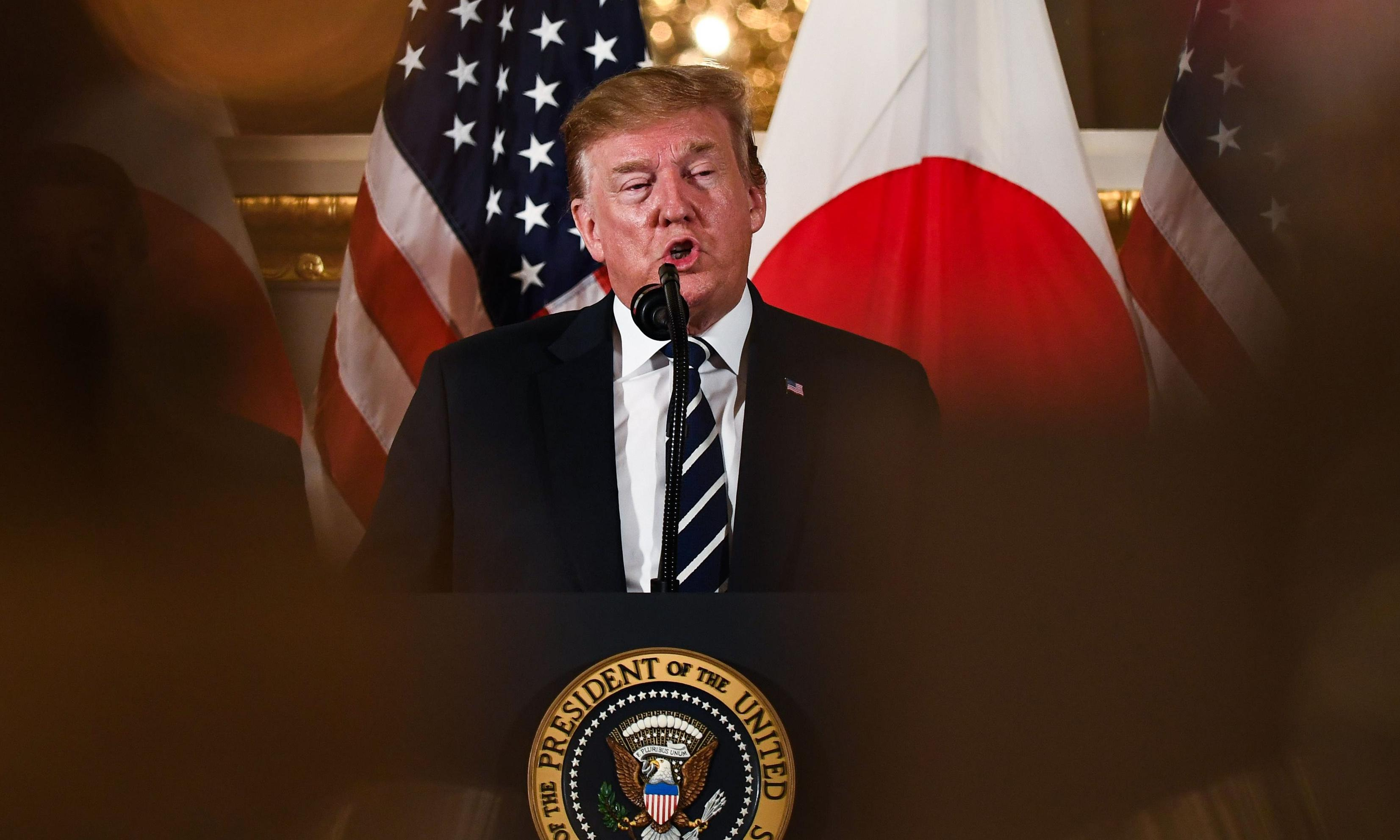 Trump arrives in Japan for ceremonial visit and trade talks