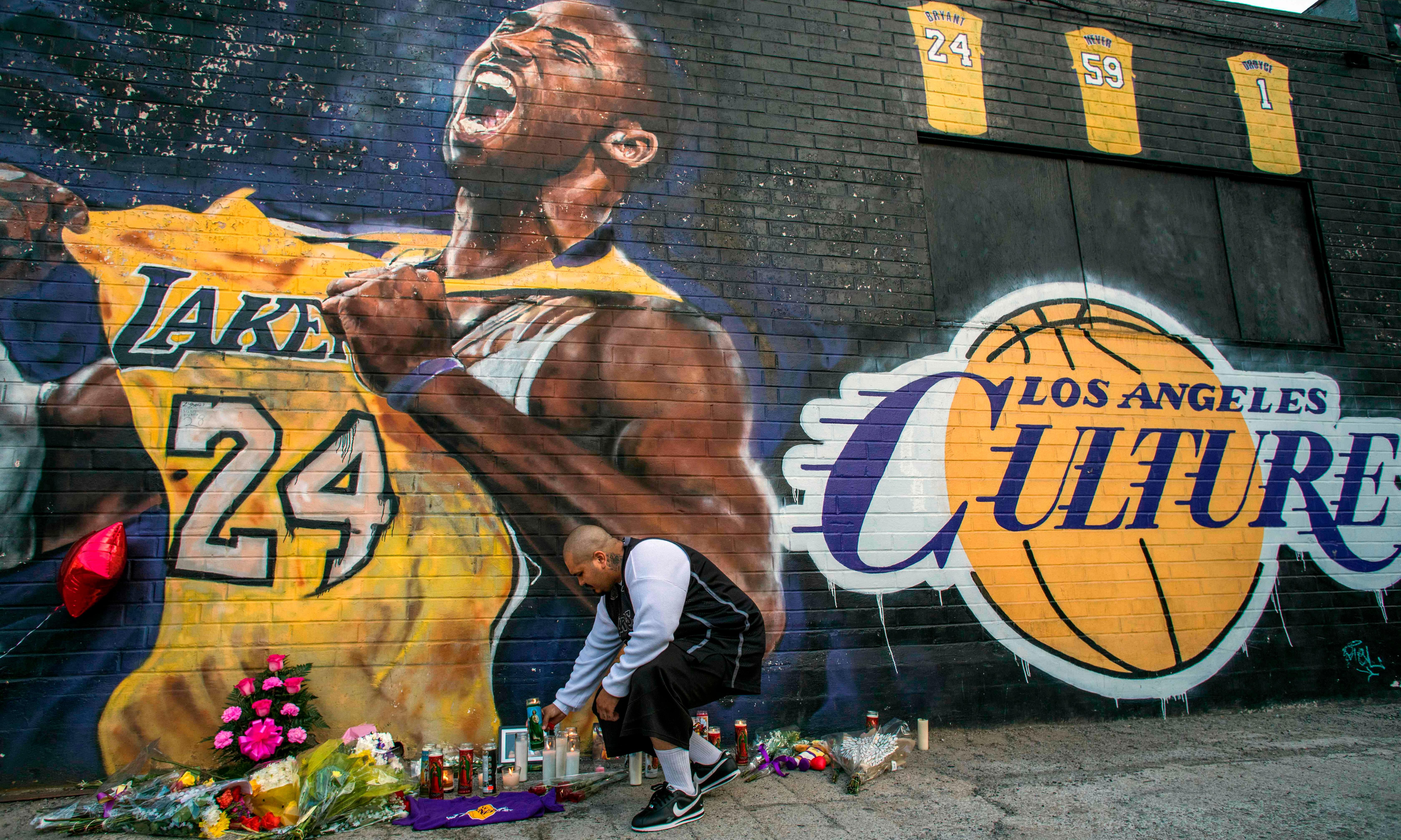 'Devastating': America mourns Kobe Bryant after death in helicopter crash