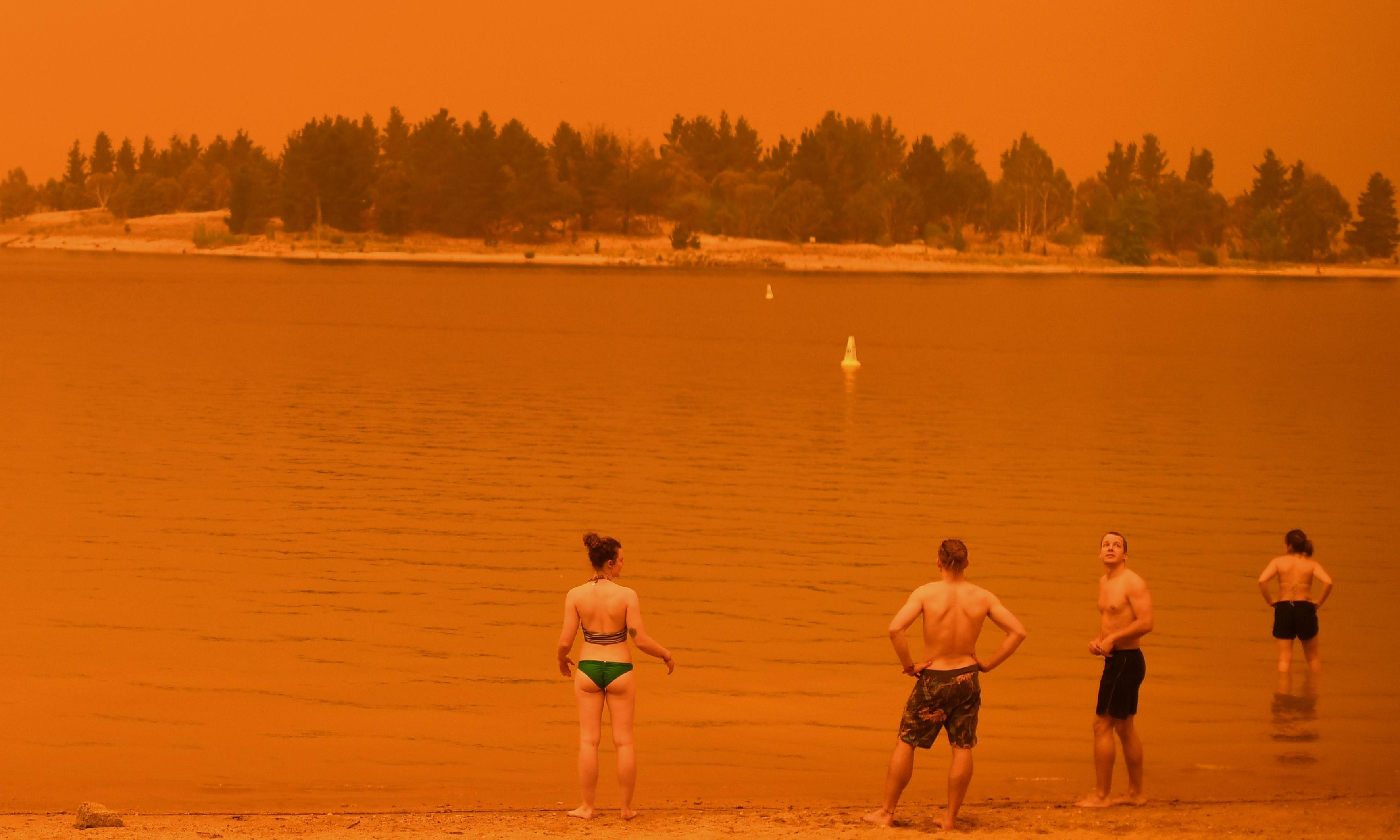 Fire raining on beaches, red skies and a billion animals killed: the new Australian summer