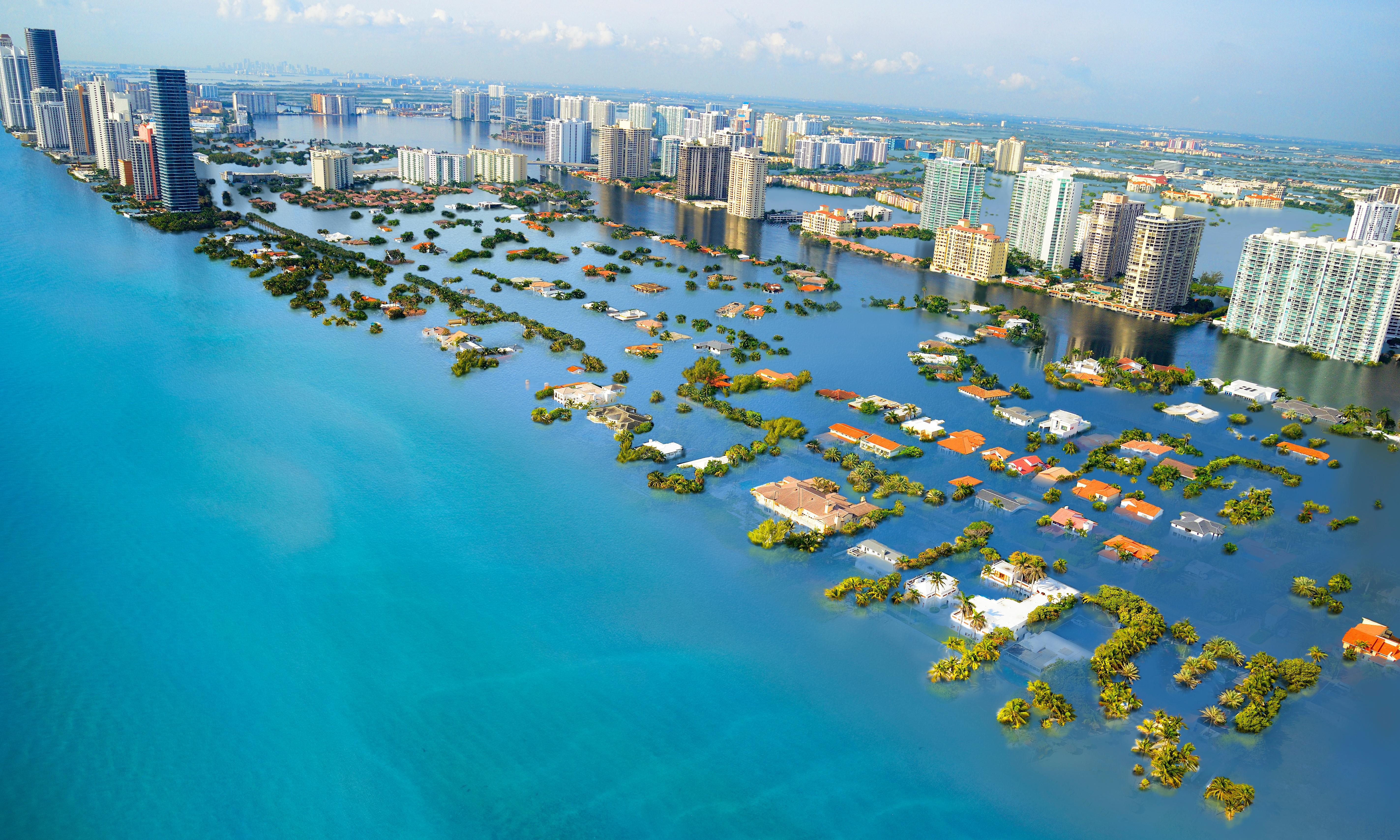 Sea levels set to keep rising for centuries even if emissions targets met