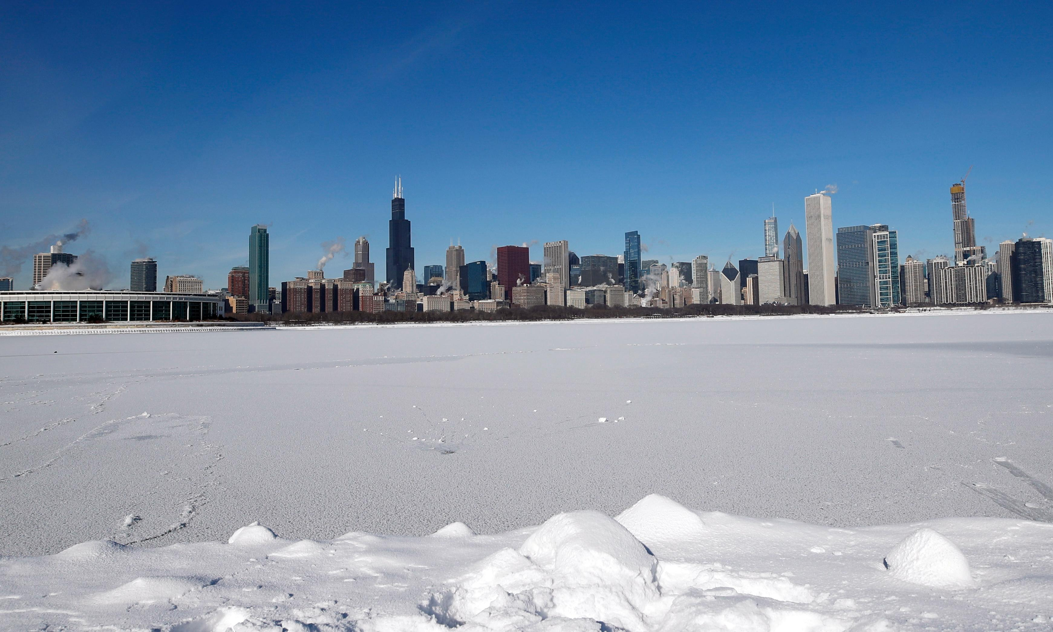 Is deep freeze the latest sign climate change is accelerating?