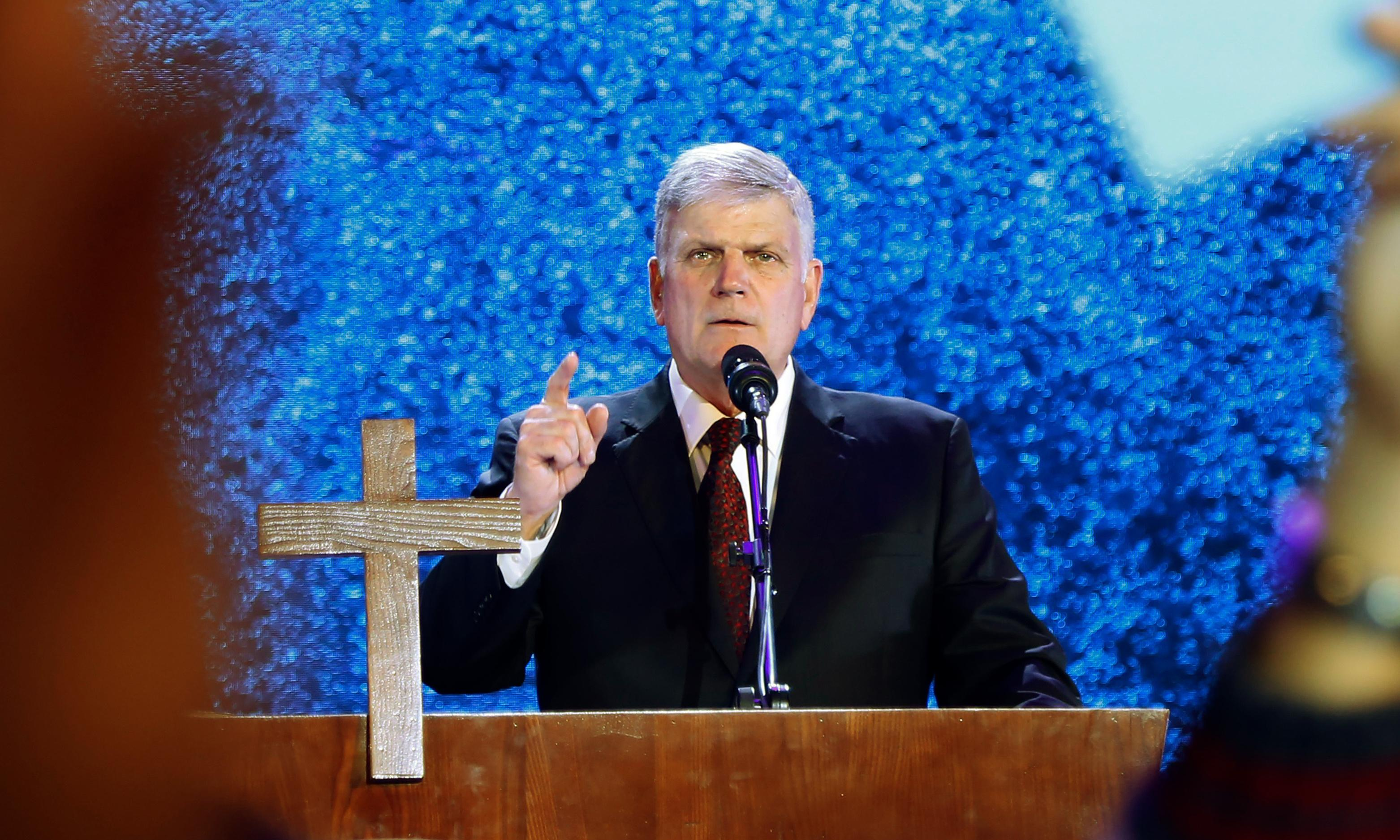 We evangelical Christians won't support Franklin Graham's UK tour