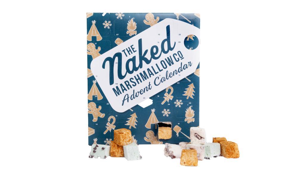 The Naked Marshmallow Co gourmet advent calendar