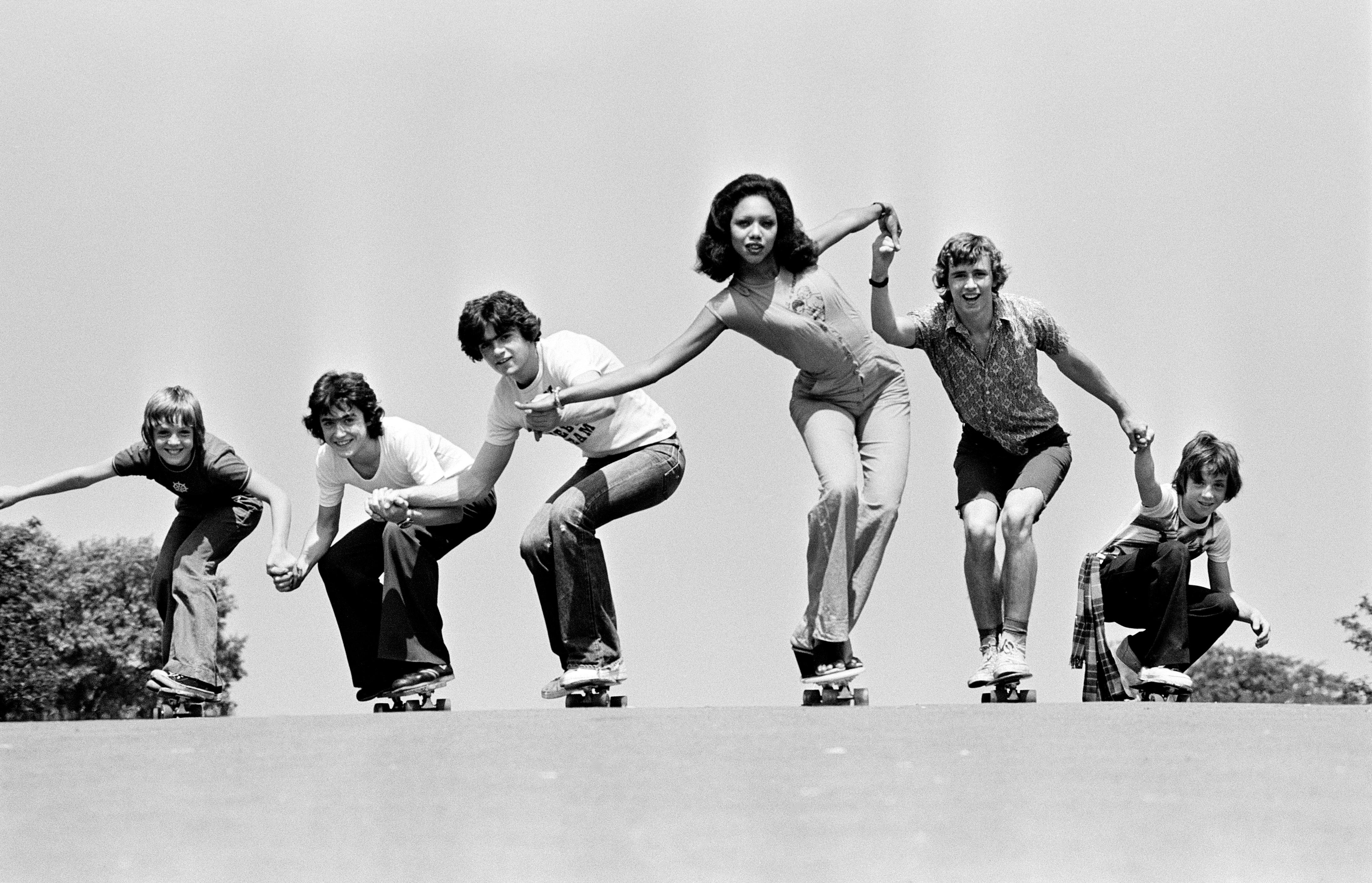Buy a classic Guardian photograph: fashion on skateboards, June 1976