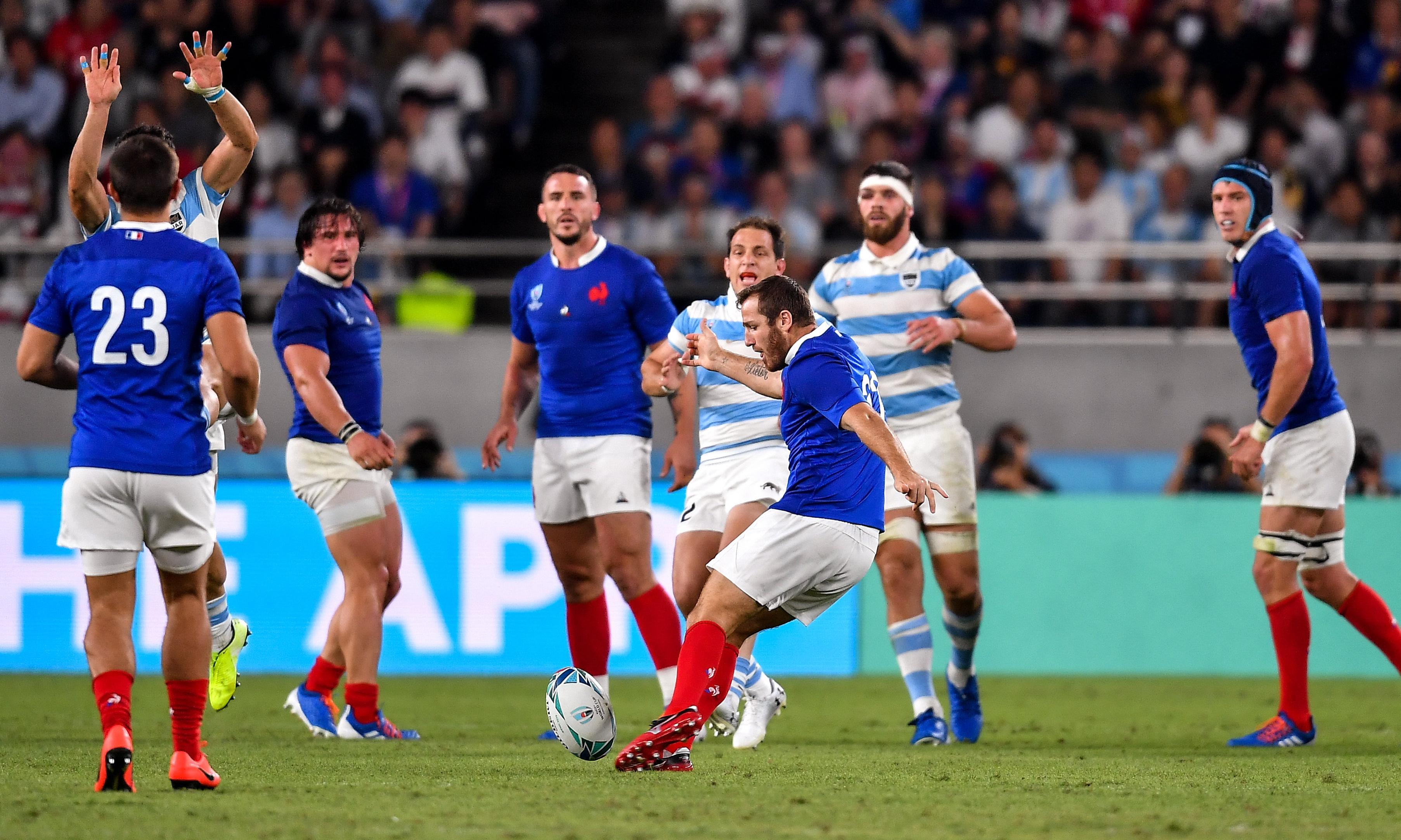 Argentina heartbreak after Camille Lopez's drop goal rescues France