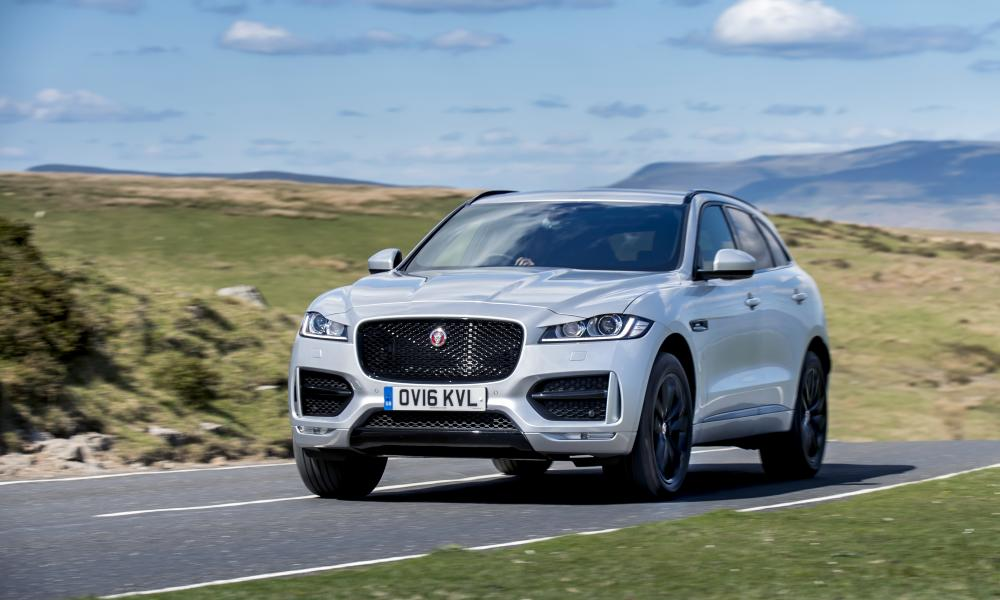 Open roads: putting the Jaguar F-Pace through its paces