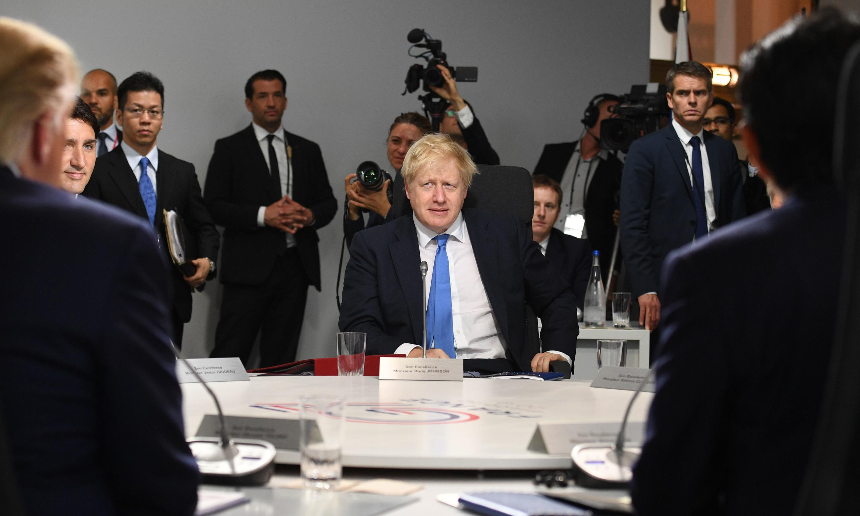 You don't get to decide whether Brexit happens, Johnson tells MPs