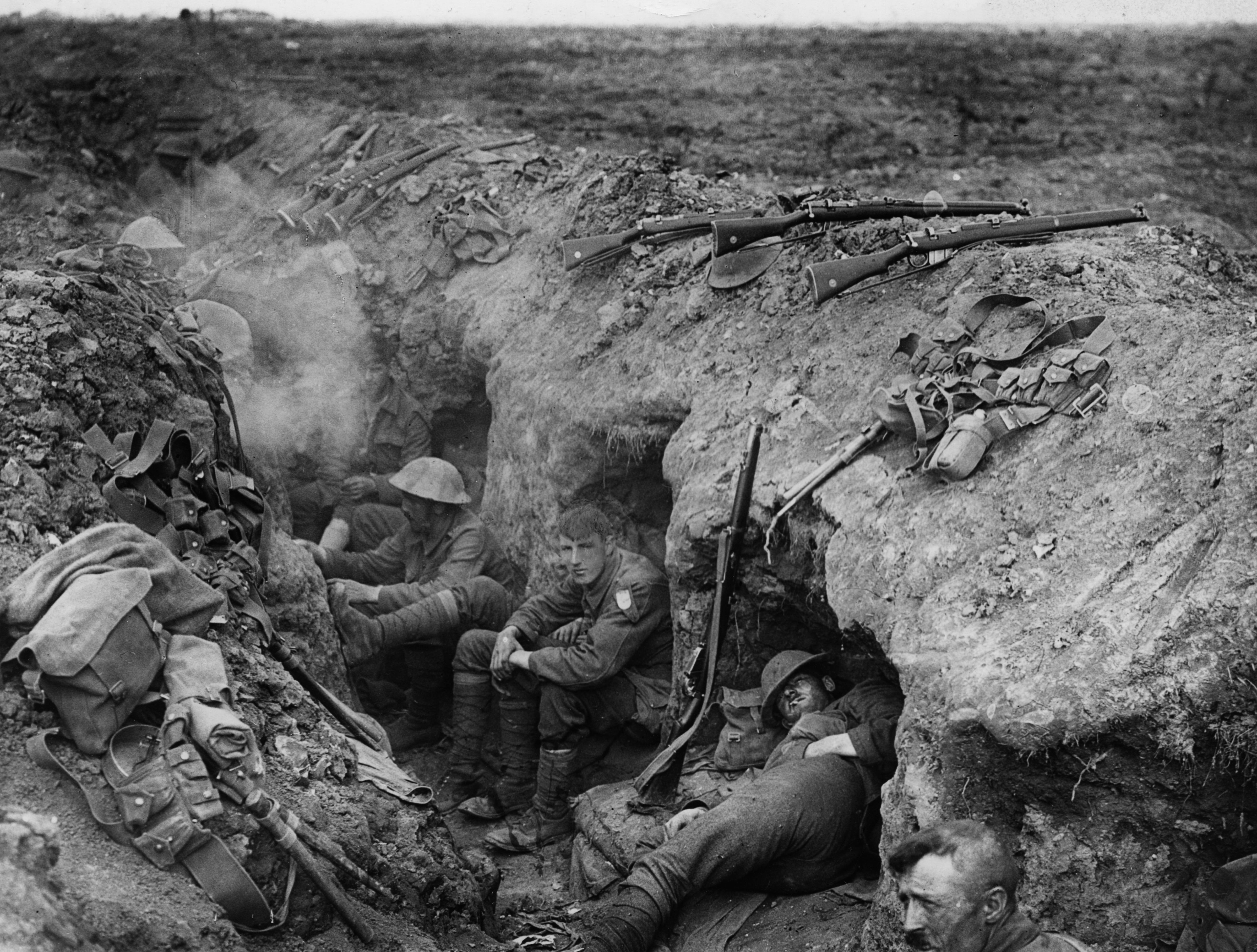 Scenes from the Somme: surreal, sickening spectacle