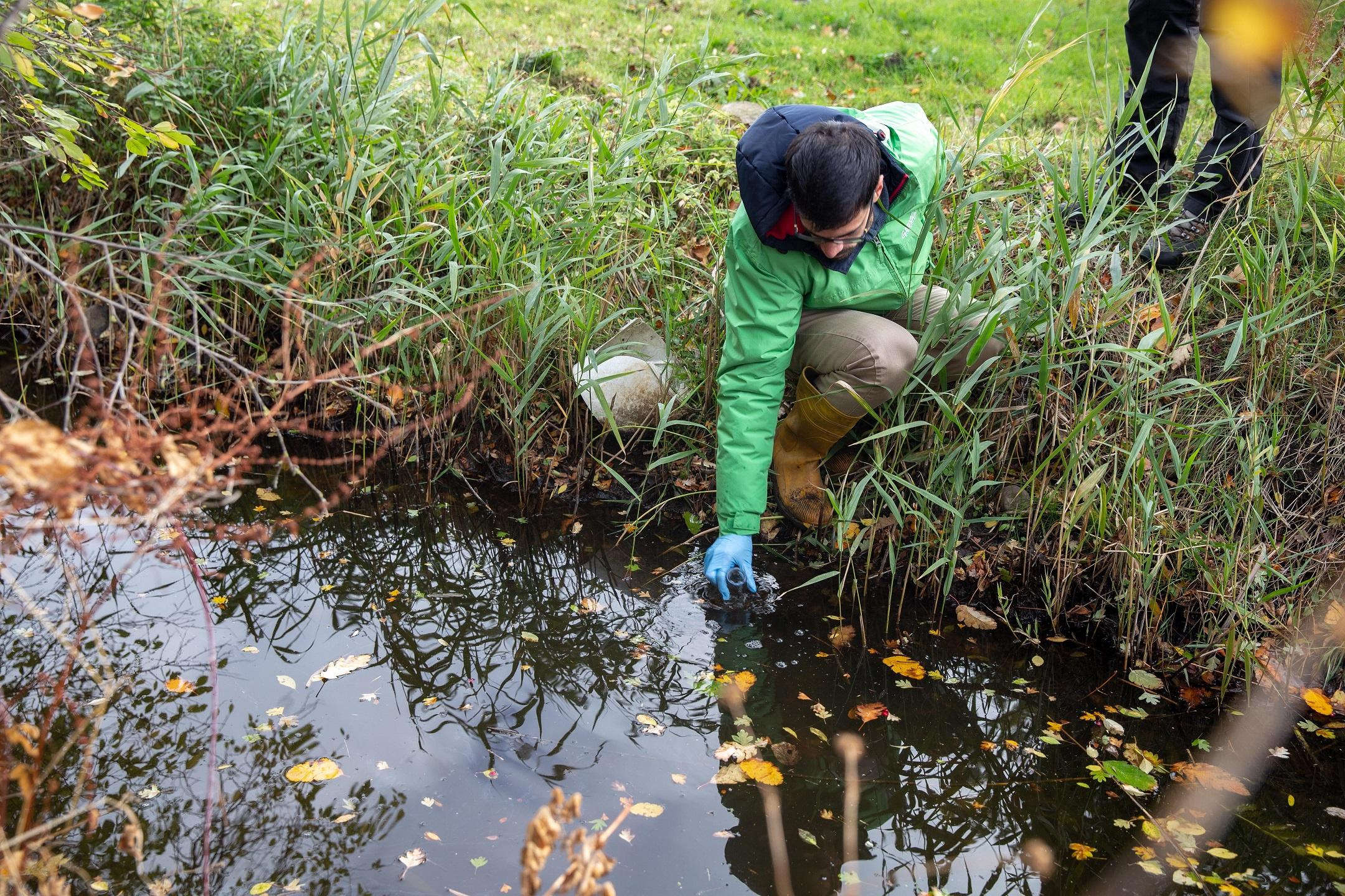Pesticides and antibiotics polluting streams across Europe