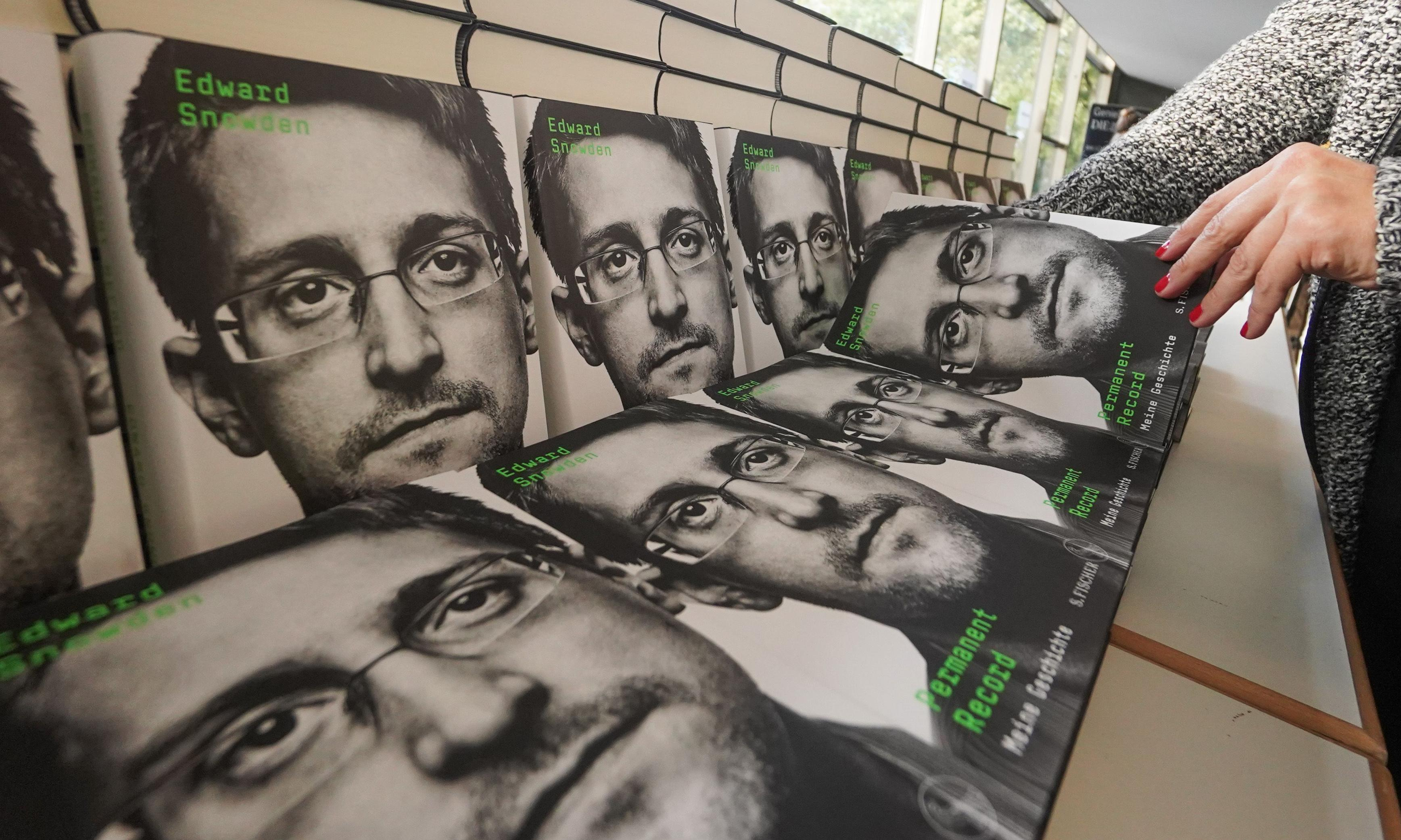 Edward Snowden's profits from memoir must go to US government, judge rules