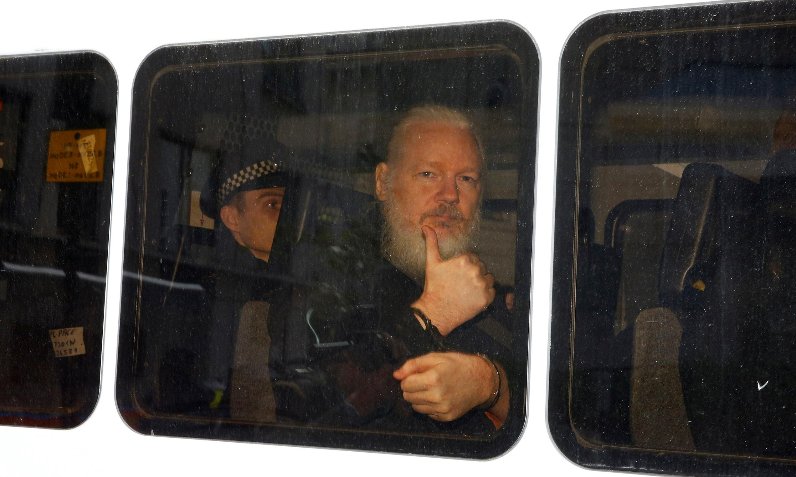 US prosecutors to 'help themselves' to Julian Assange's possessions