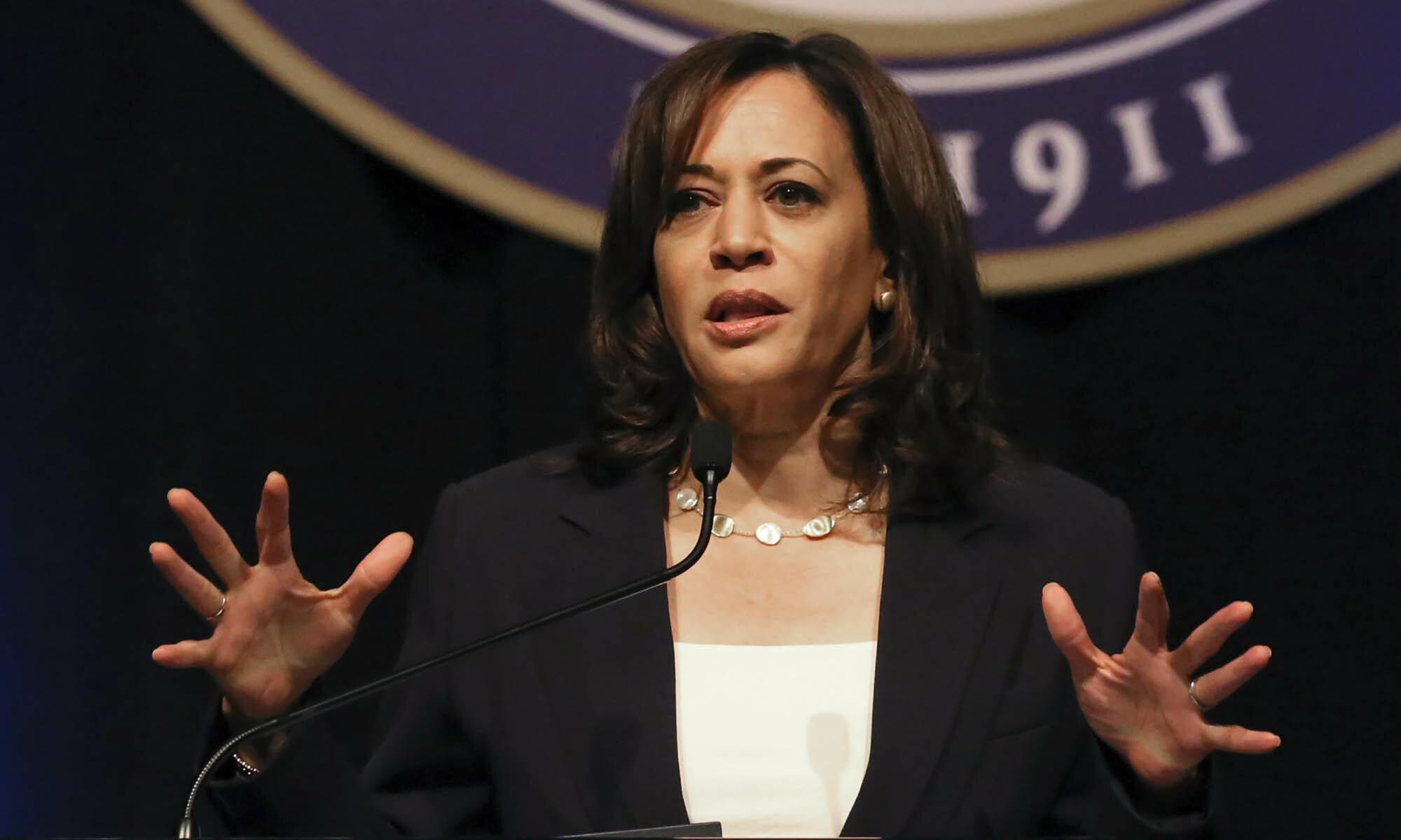 Kamala Harris might be surging — but her record will soon catch up with her