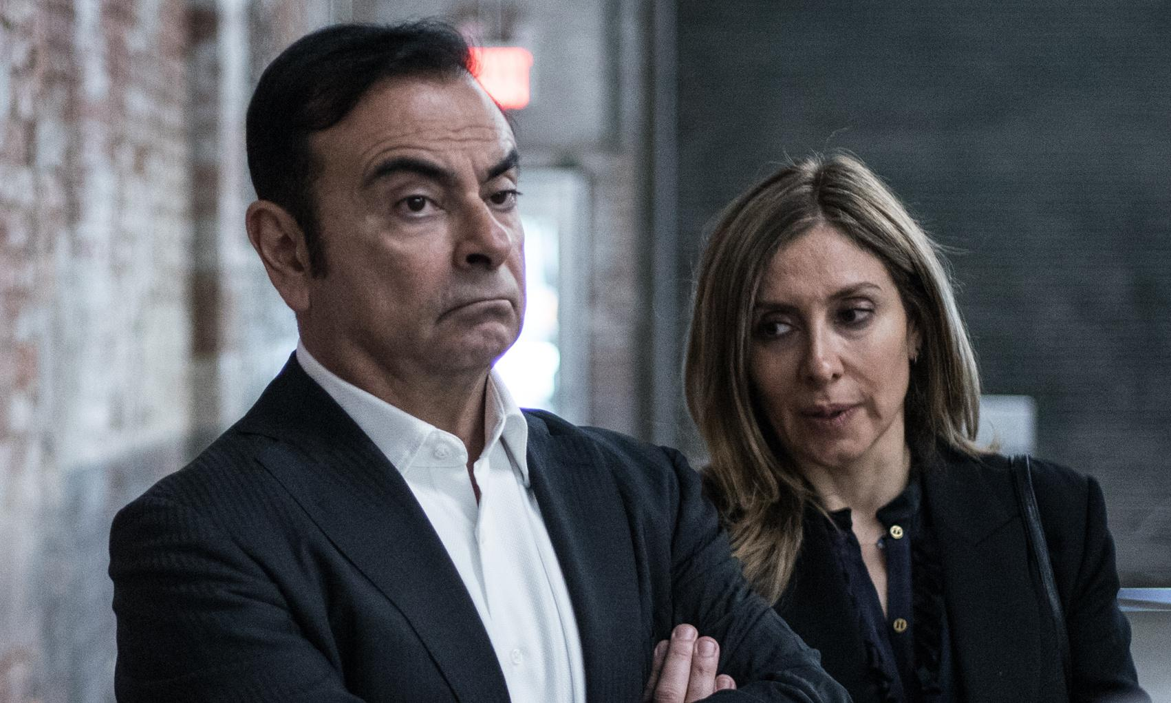 Carlos Ghosn's wife urges Trump to support her husband