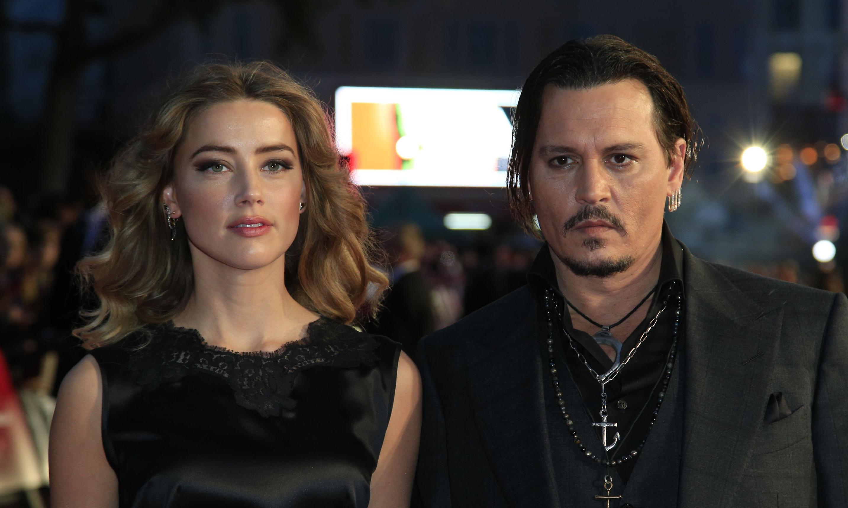 Johnny Depp accuses ex-wife Amber Heard of 'painting-on' bruises