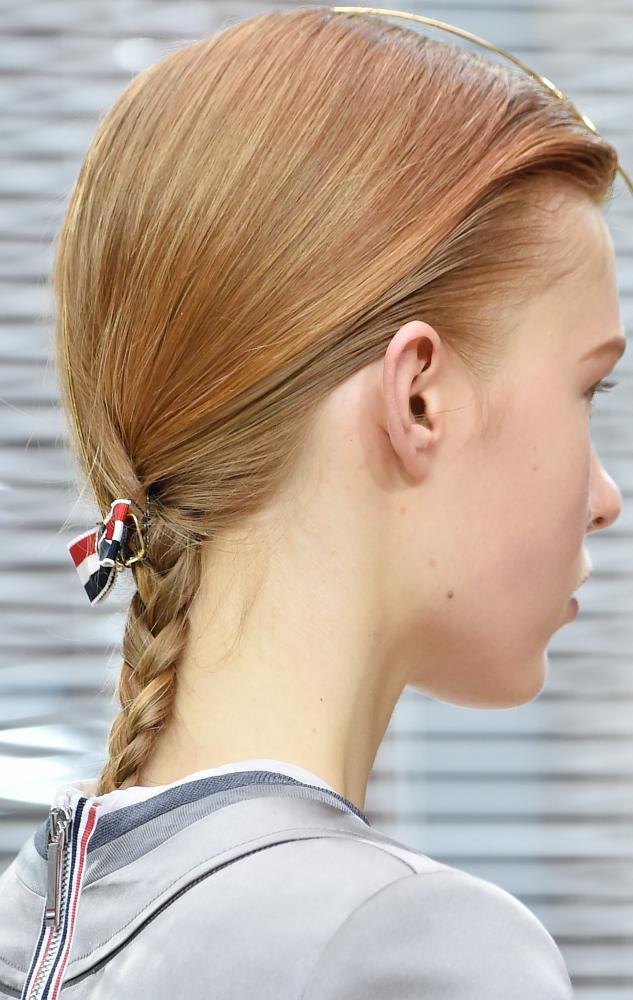 Thom Browne show as part of the Paris Fashion Week Womenswear