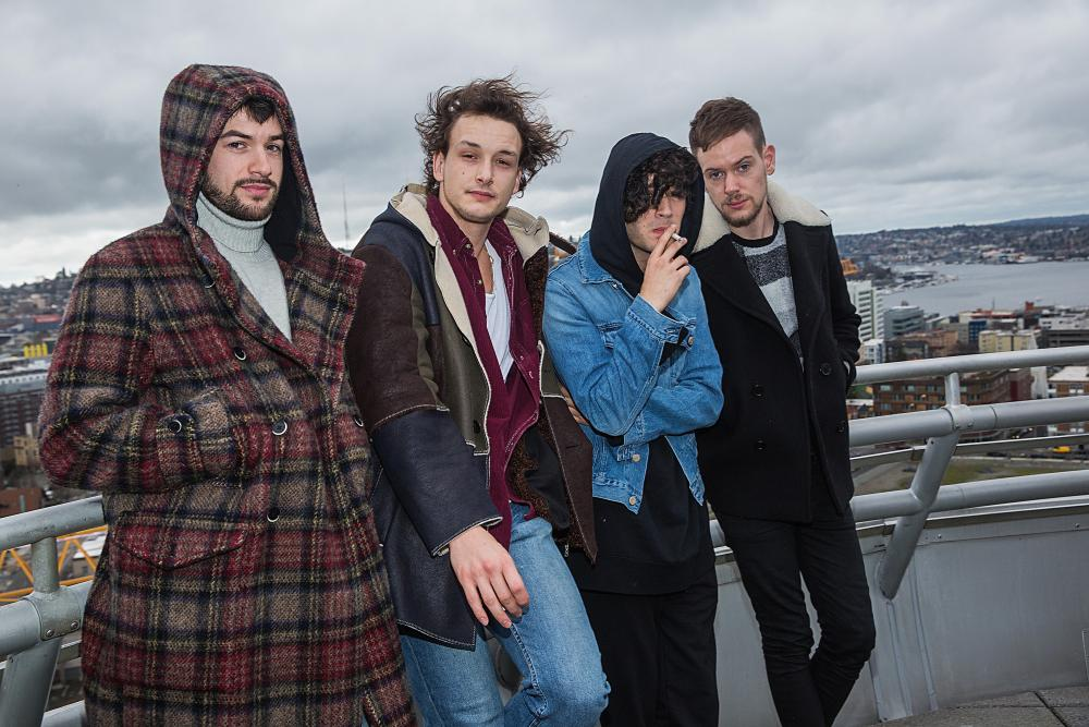 The 1975 in Seattle in December 2015