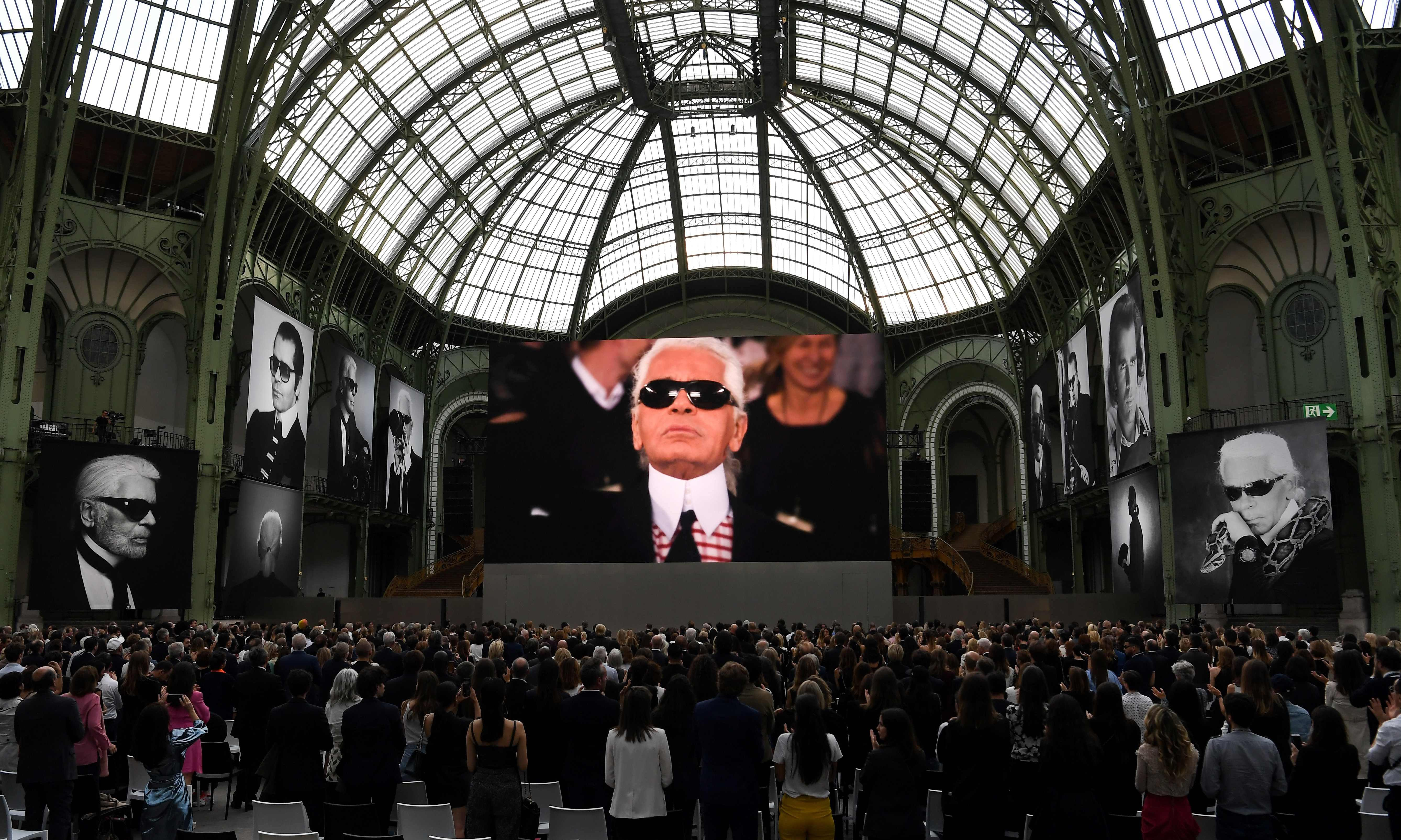 Chic, not sombre – Karl Lagerfeld honoured in Paris
