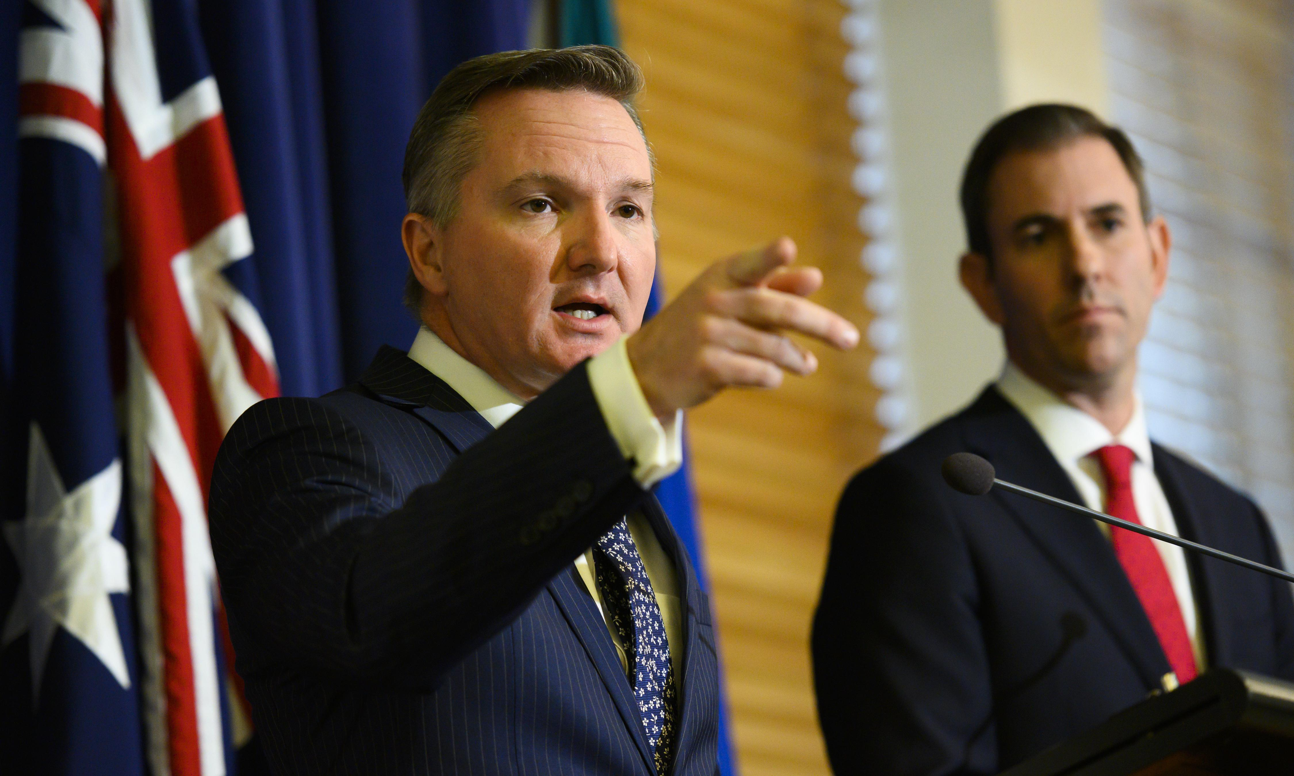 Chris Bowen and Jim Chalmers weigh up Labor leadership run against Albanese