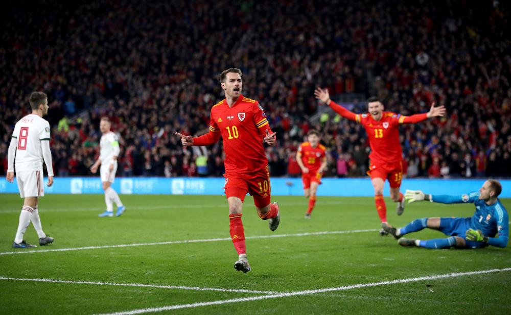Ramsey celebrates!