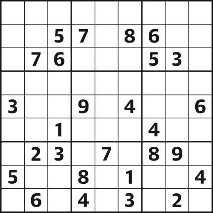Sudoku 4,615 hard