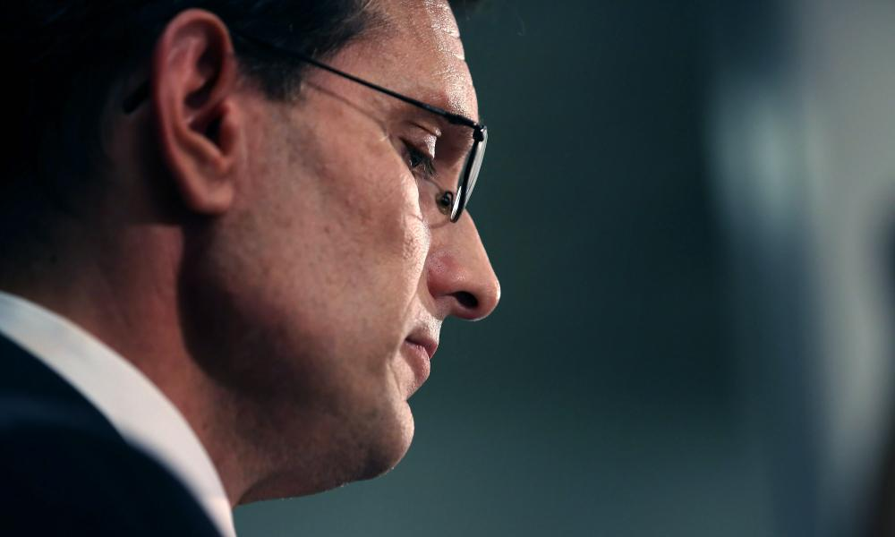 Cantor after resigning in 2014, following a primary election defeat at the hands of a candidate branded as a Washington outsider.