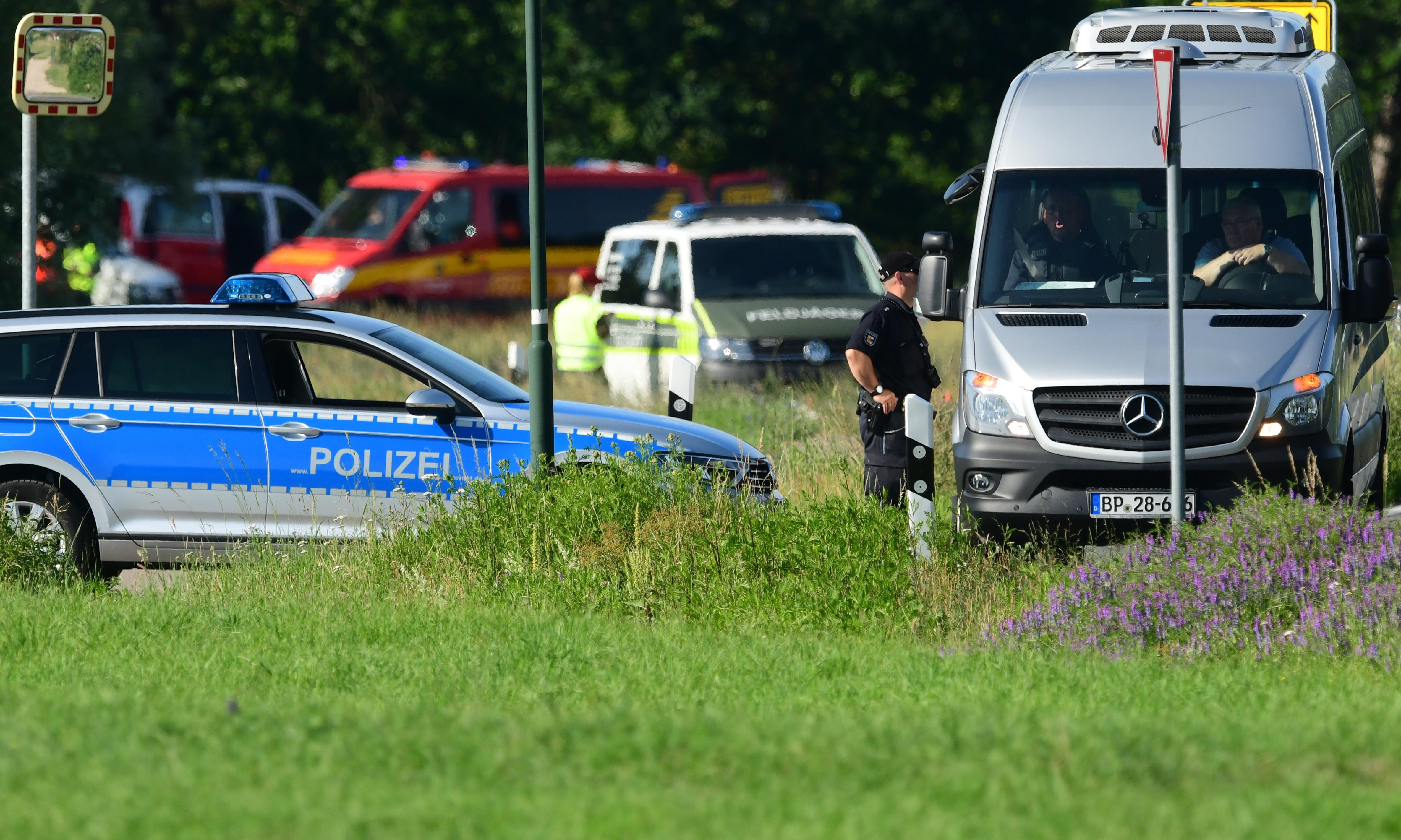 Body found after two Eurofighter Typhoon jets crash in Germany