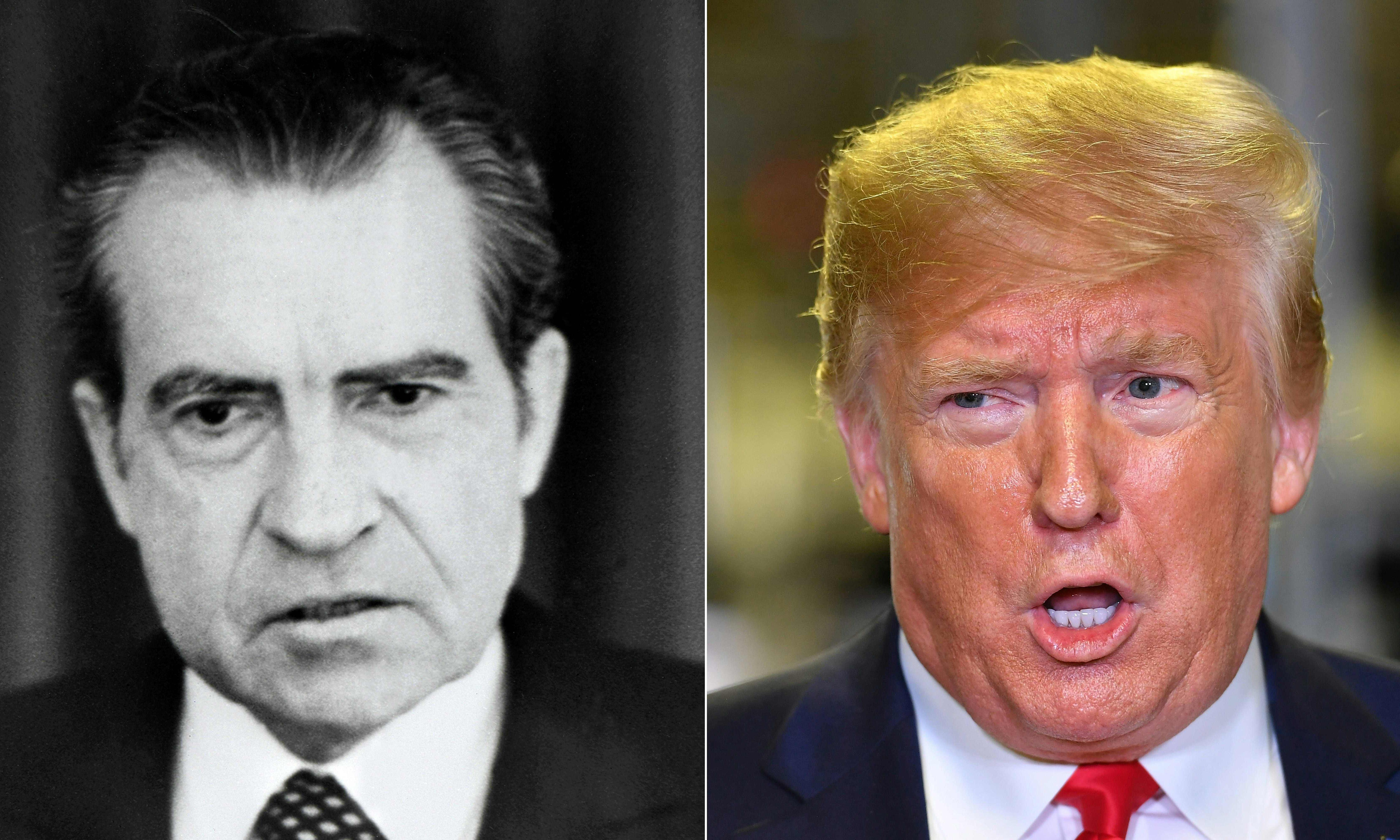 In his assault on justice, Trump has out-Nixoned Nixon