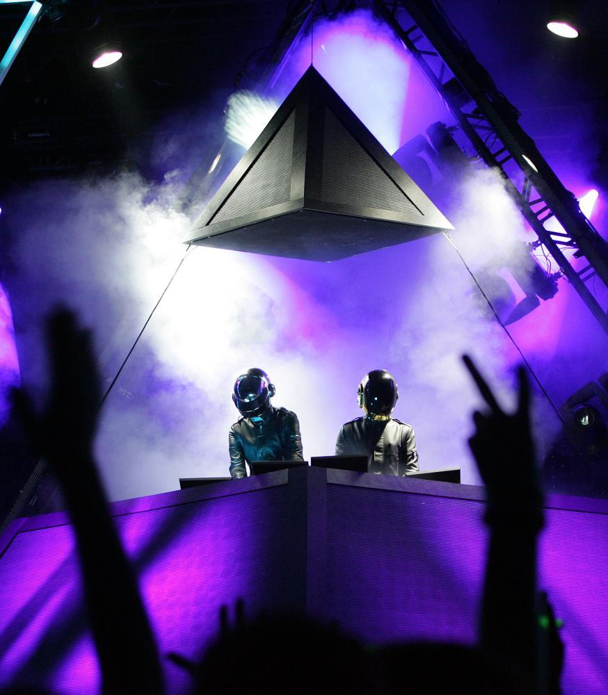 Daft Punk perform at Coachella, 2006.