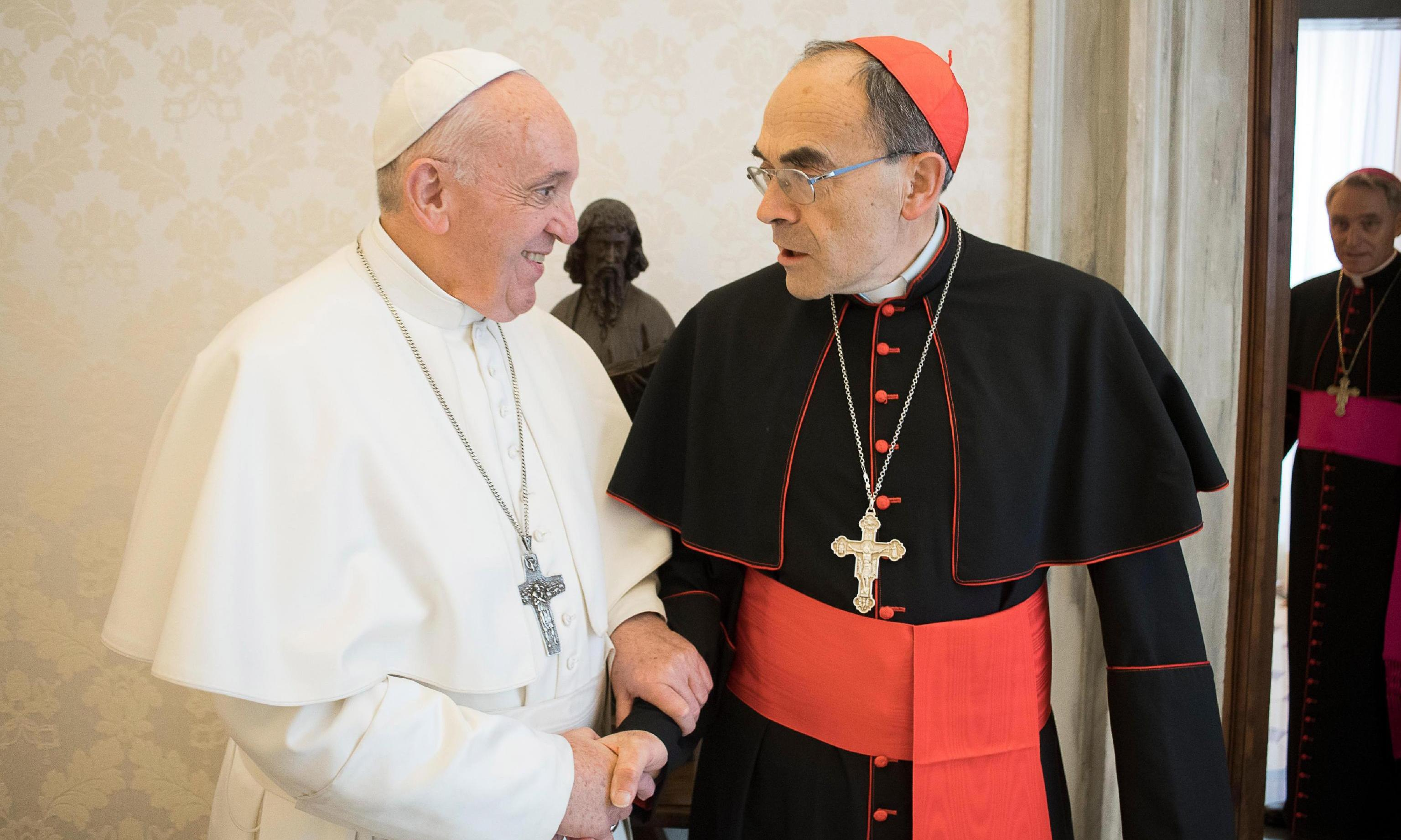 Convicted French cardinal says pope has refused his resignation