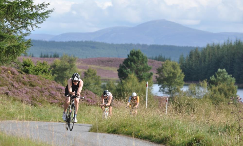 Loch Tay Sprint Triathlon, Scotland