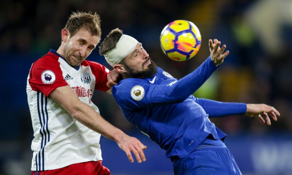Olivier Giroud proved an influential presence in a bruising encounter for the former Arsenal forward.