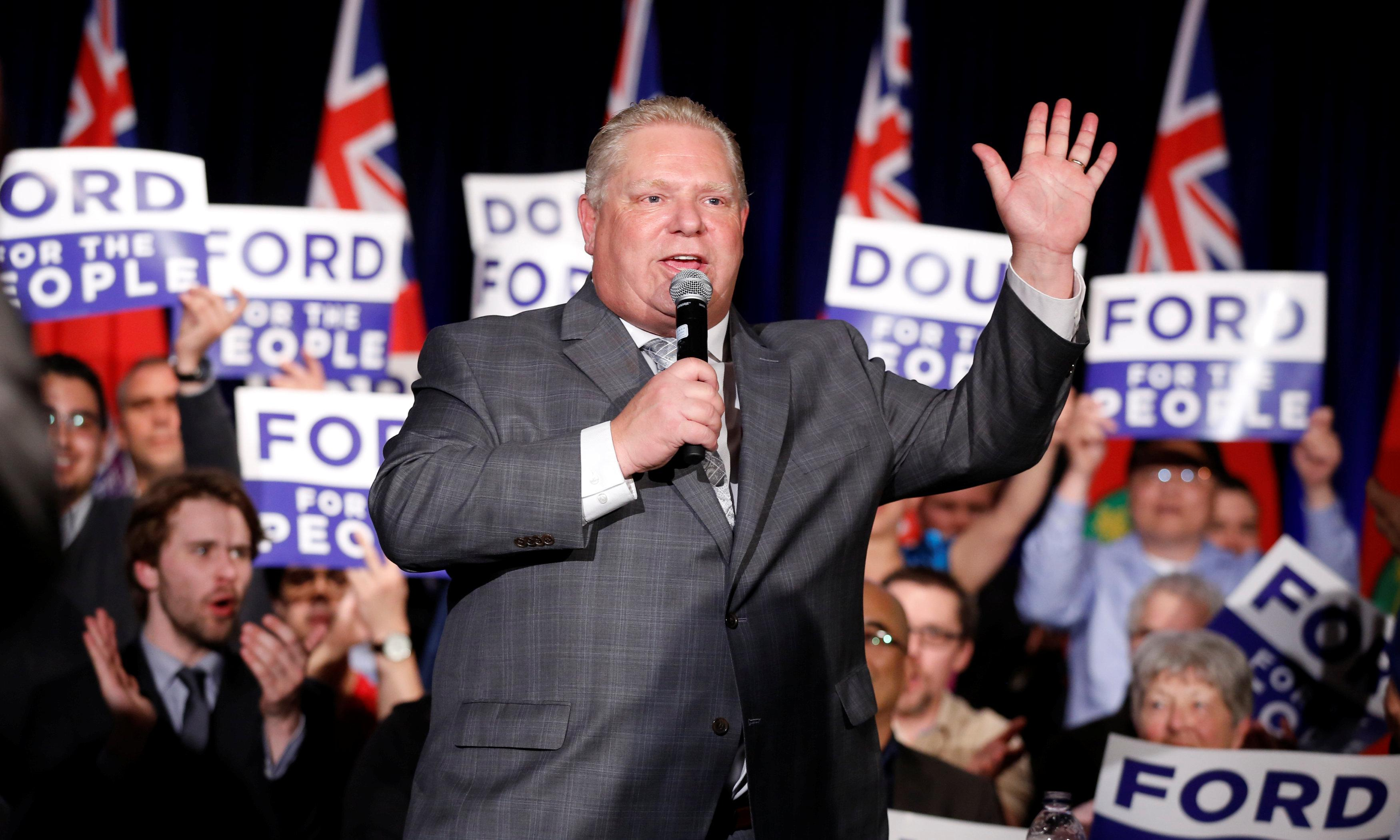 Doug Ford reveals Canadian right's disdain for constitutional norms