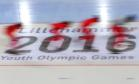 Sport picture of the day: Winter Youth Olympic speed skaters
