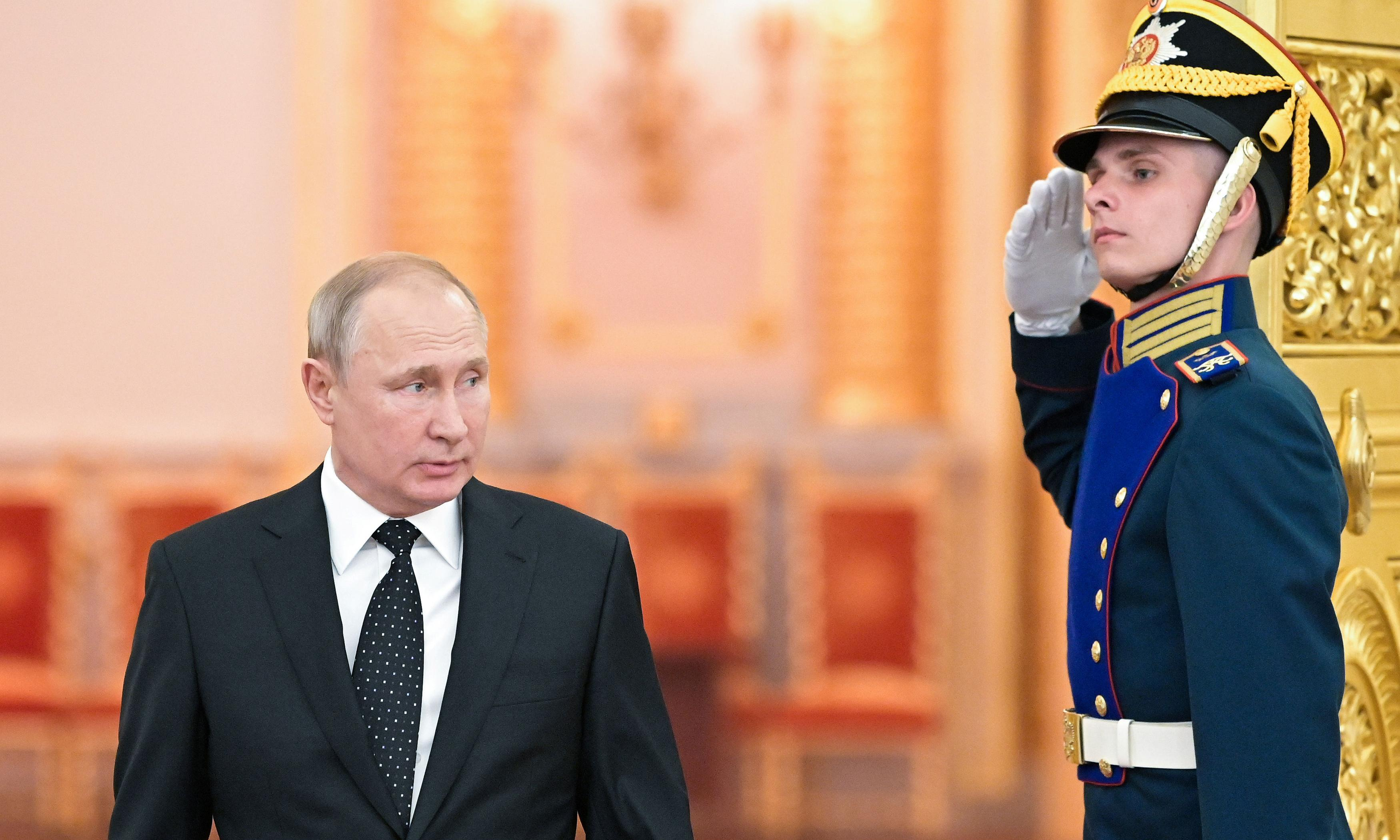 Theresa May to meet Vladimir Putin at G20 summit in Japan