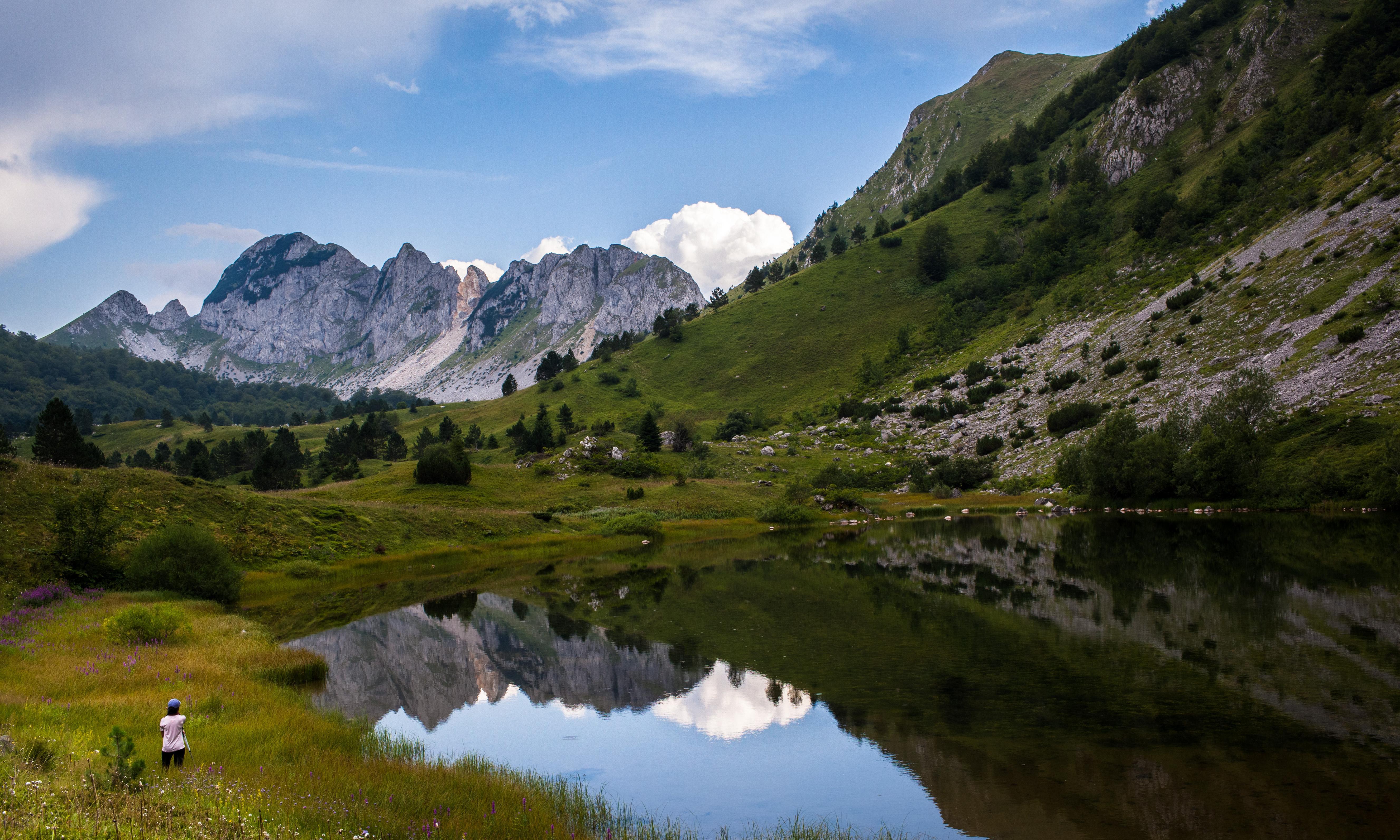 Hiking a new mega-trail in the Balkans