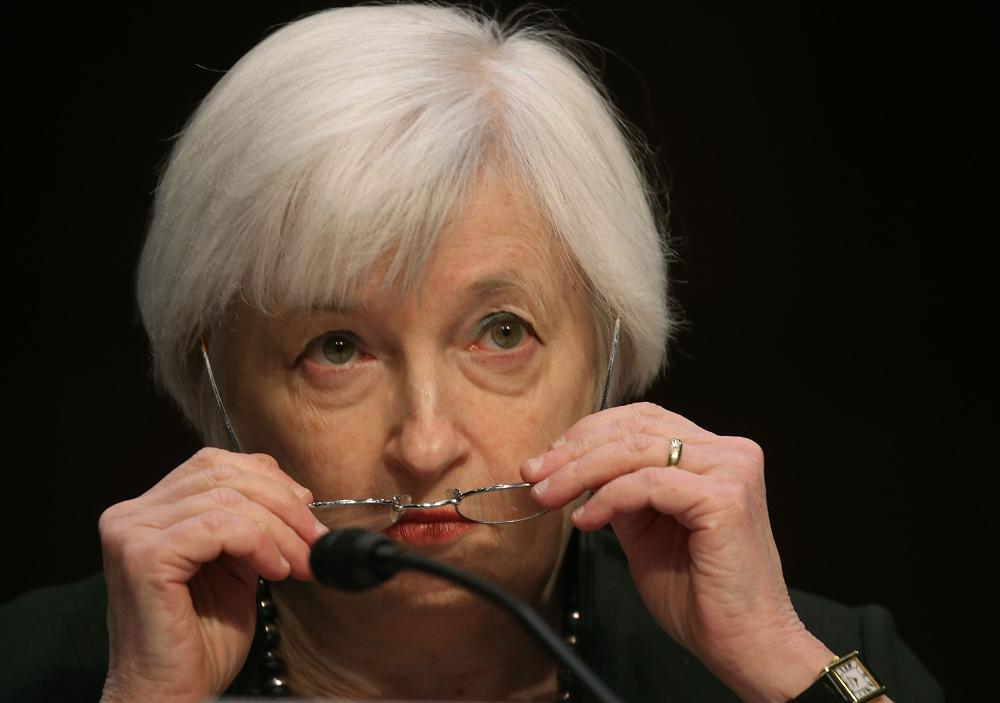 Federal Reserve Chairman Janet Yellen.