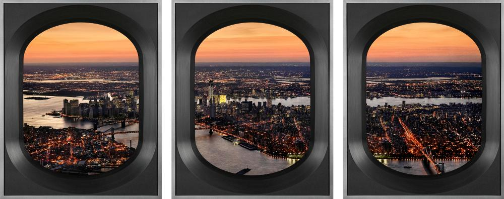 Day into night, New York, by Scott Mead