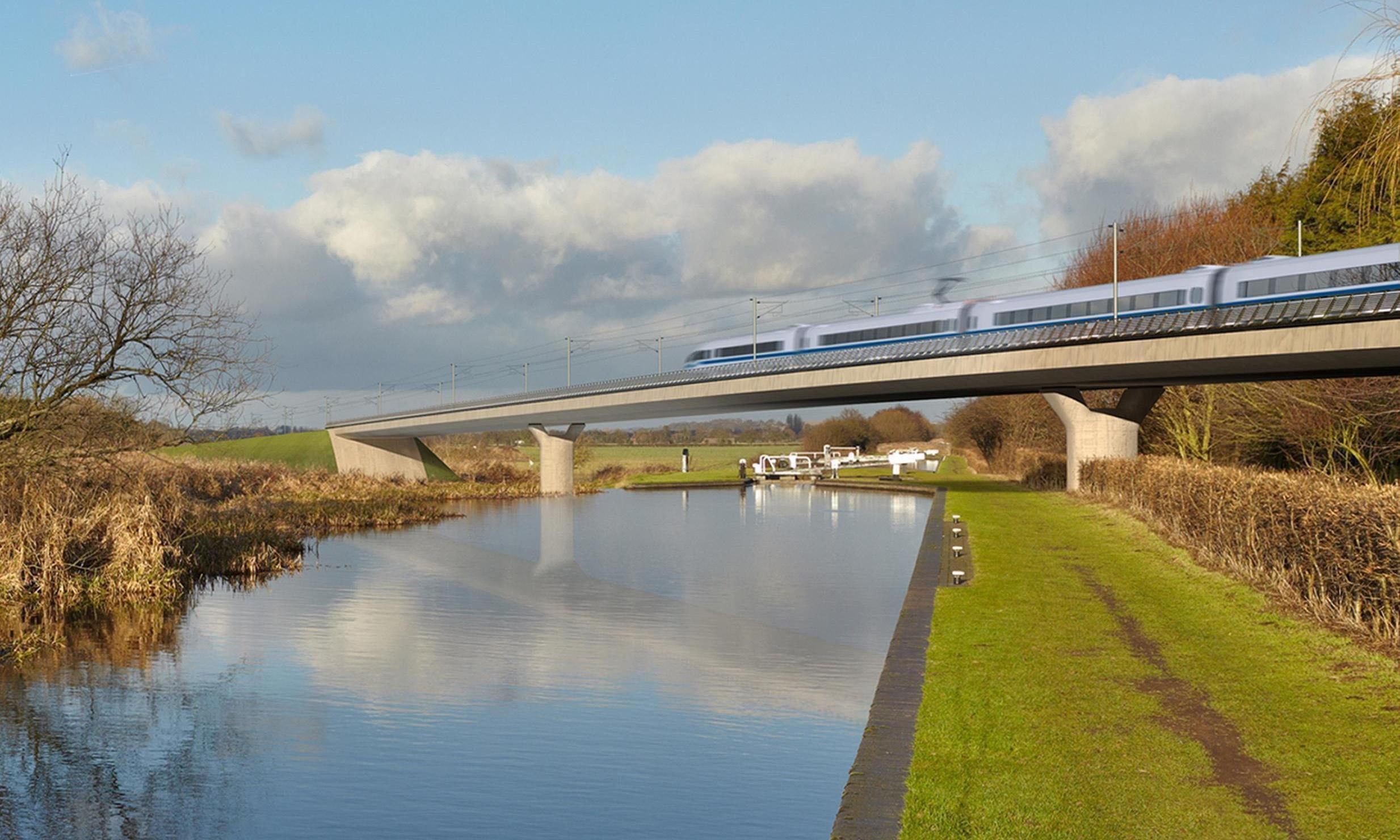 If Boris Johnson wanted Britain to lead the world, he'd stop hedging his bets and back HS2