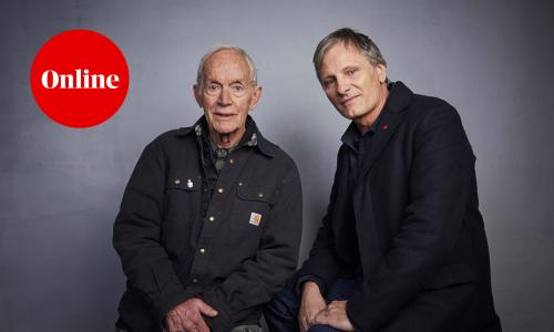 Lance Henriksen and Viggo Mortensen, photographed in January 2020
