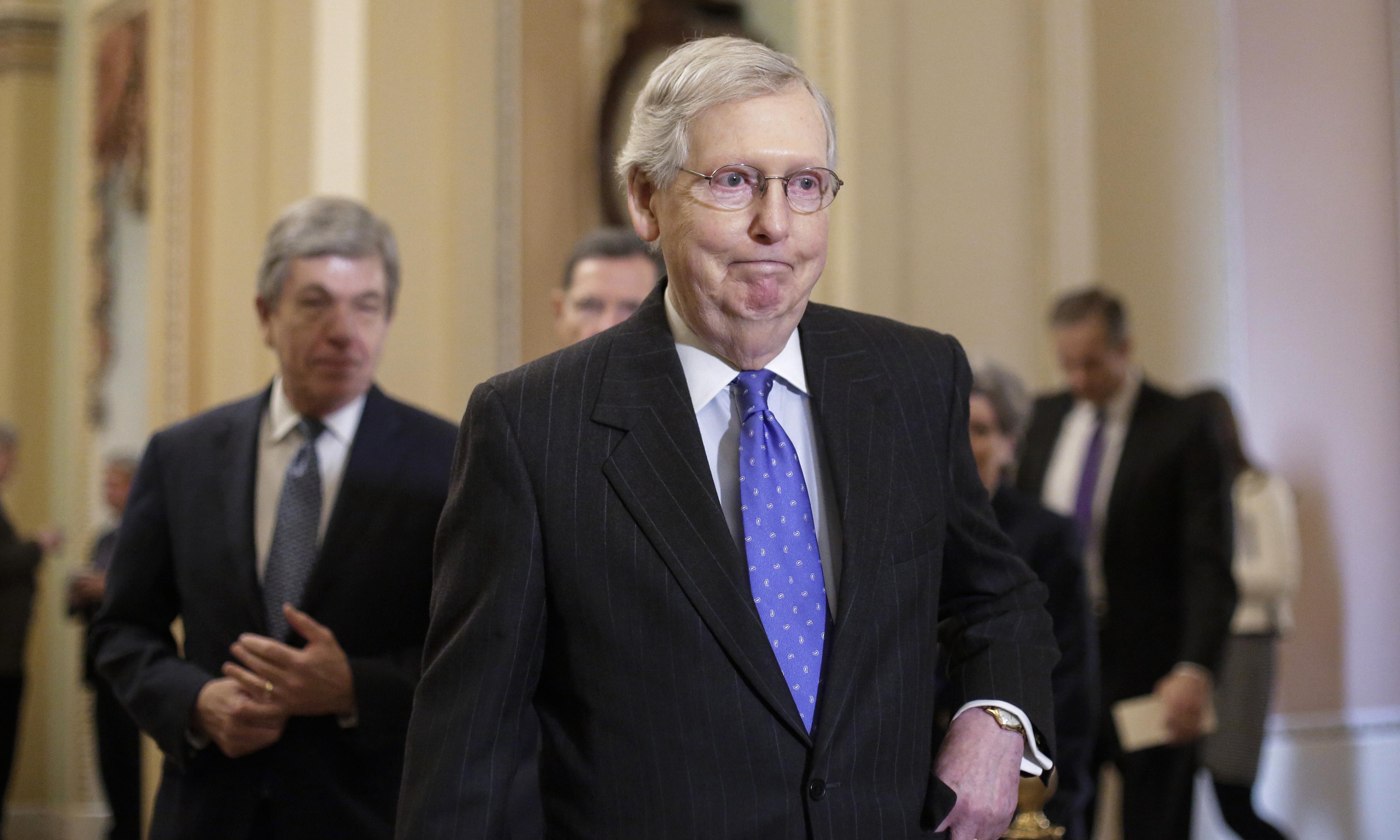 Senate Republicans announce bill to end shutdown on Trump's terms