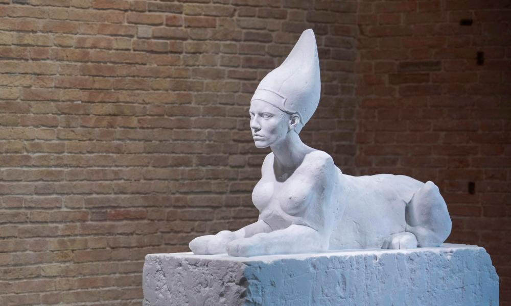 Sphinx by Damien Hirst.