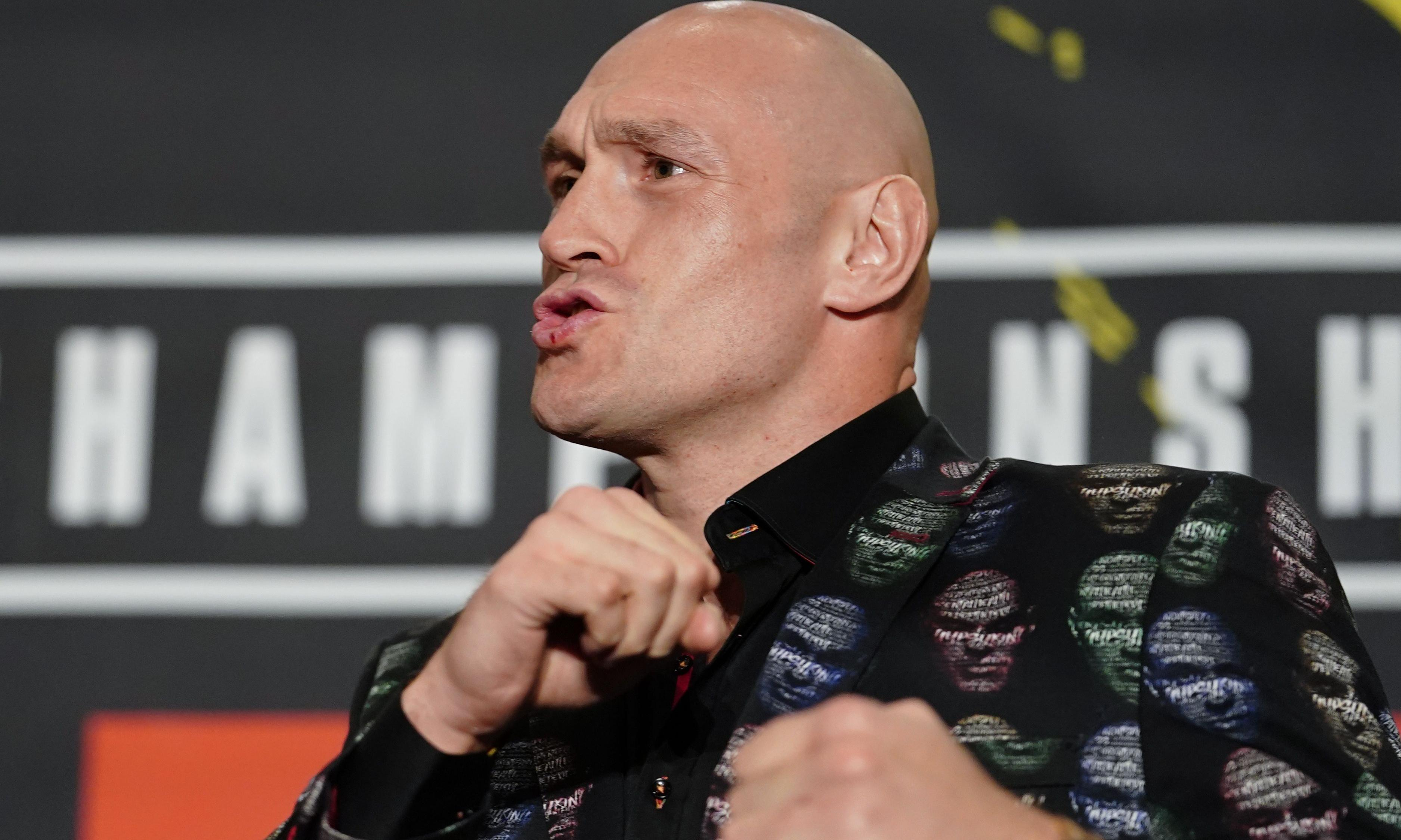 'I'm going to rip his heart out': Fury cranks up war of words with Wilder