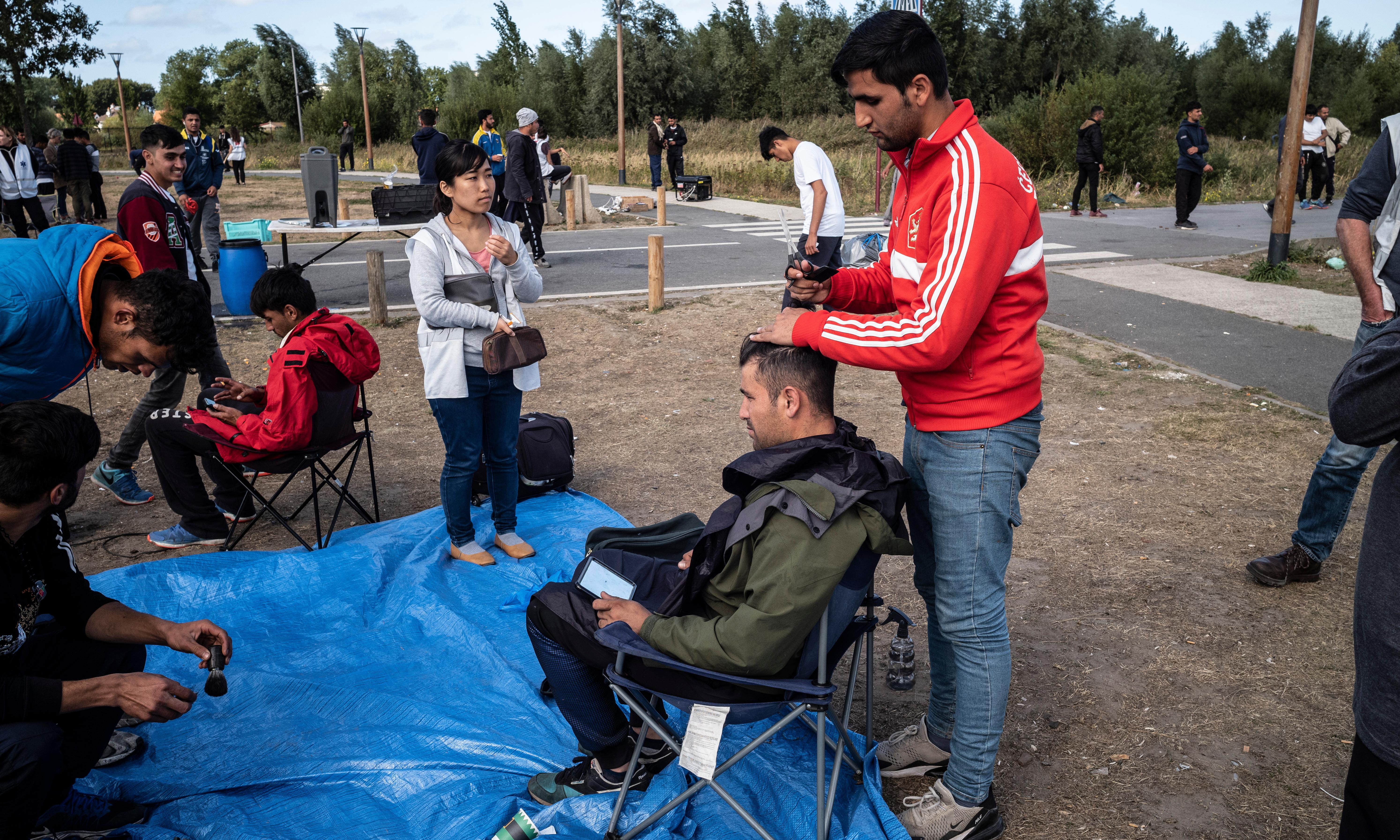 Calais clamps down as asylum seekers say: 'They just beat us'