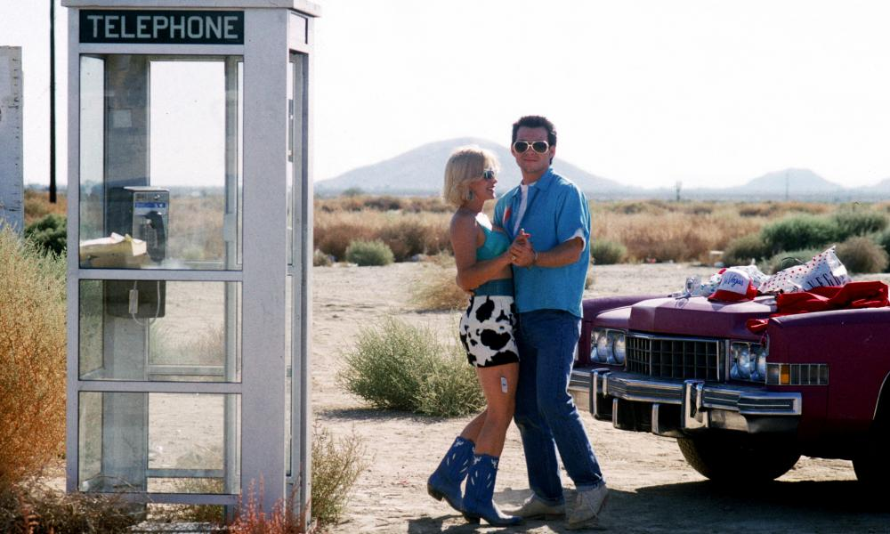 Patricia Arquette and Christian Slater in True Romance.