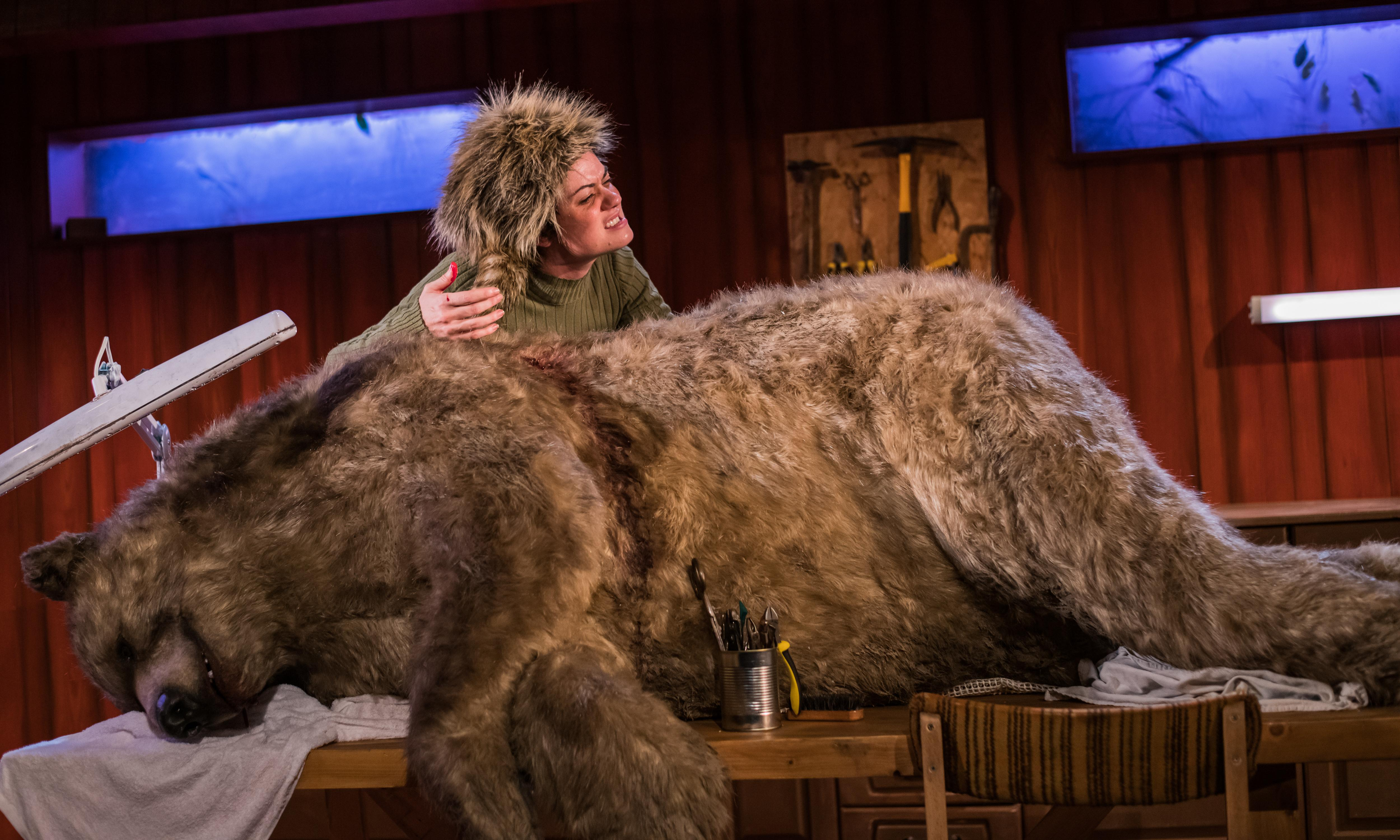 The Monstrous Heart review – blood, fury and a talking dead bear