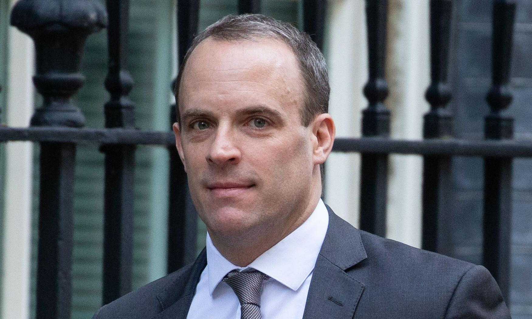 Brussels rejects 'fraudulent' Raab claim used in election video